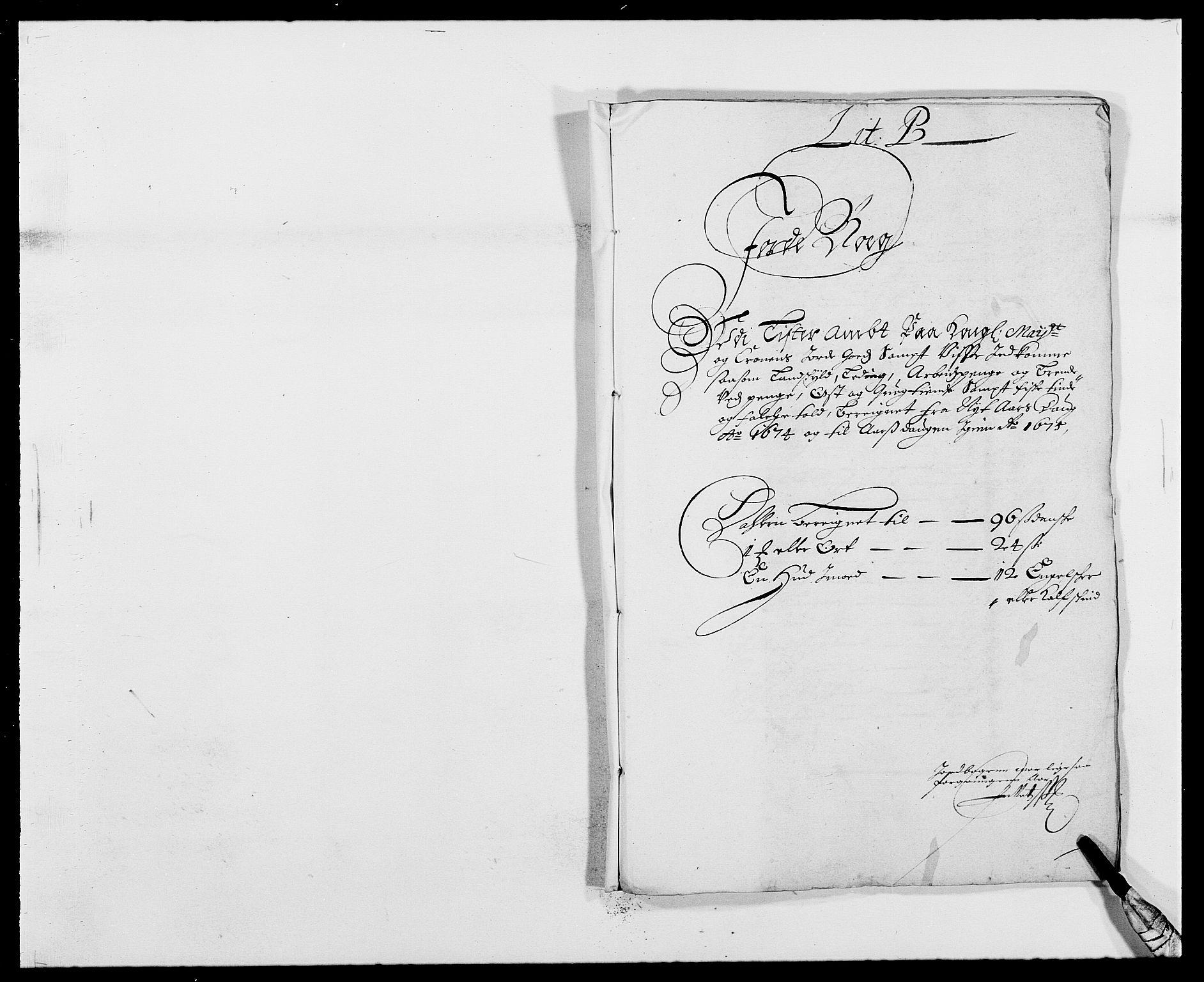 RA, Rentekammeret inntil 1814, Reviderte regnskaper, Fogderegnskap, R41/L2528: Fogderegnskap Lista, 1673-1674, s. 193