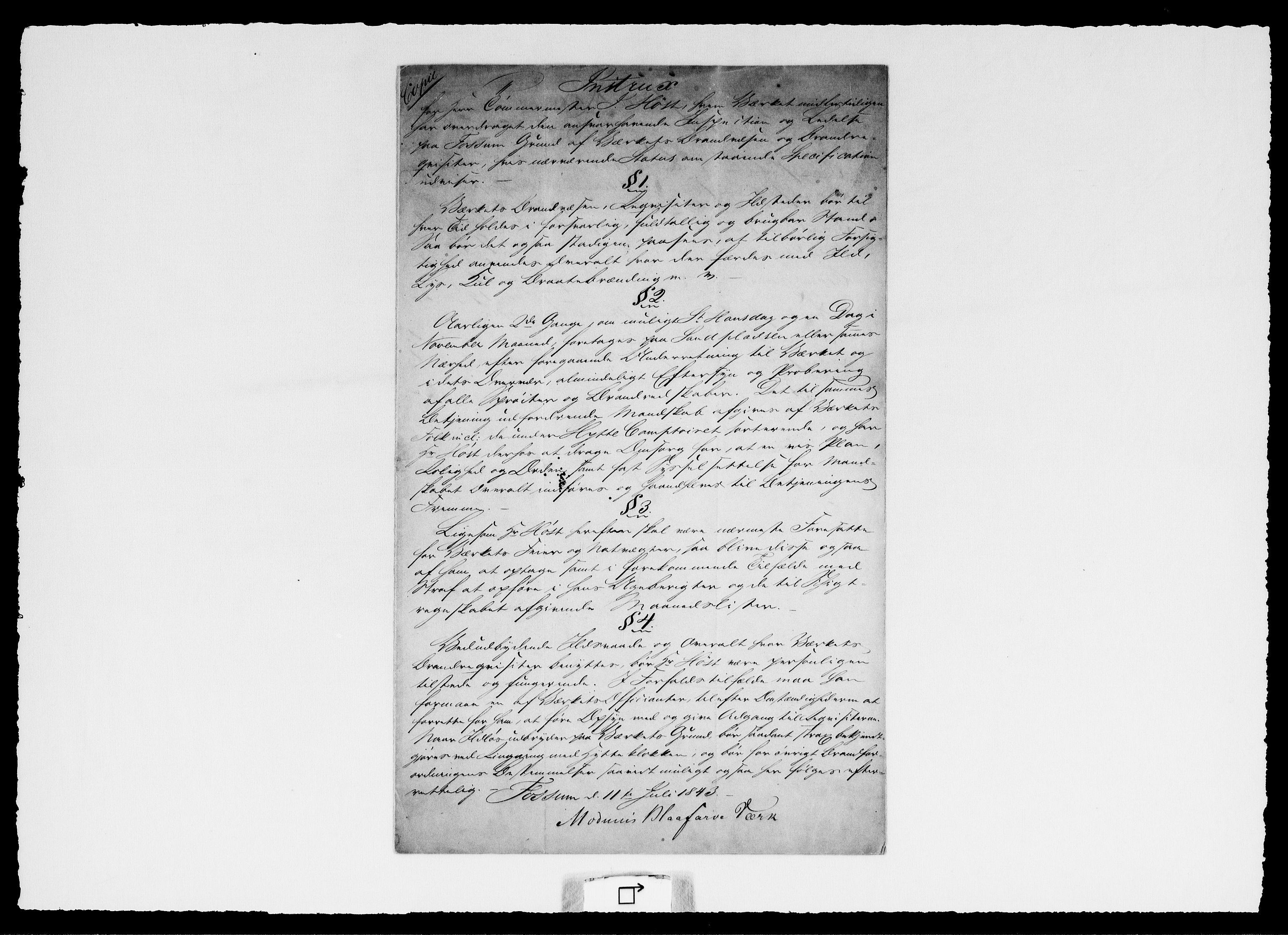 RA, Modums Blaafarveværk, G/Ga/L0064, 1828-1848, s. 2