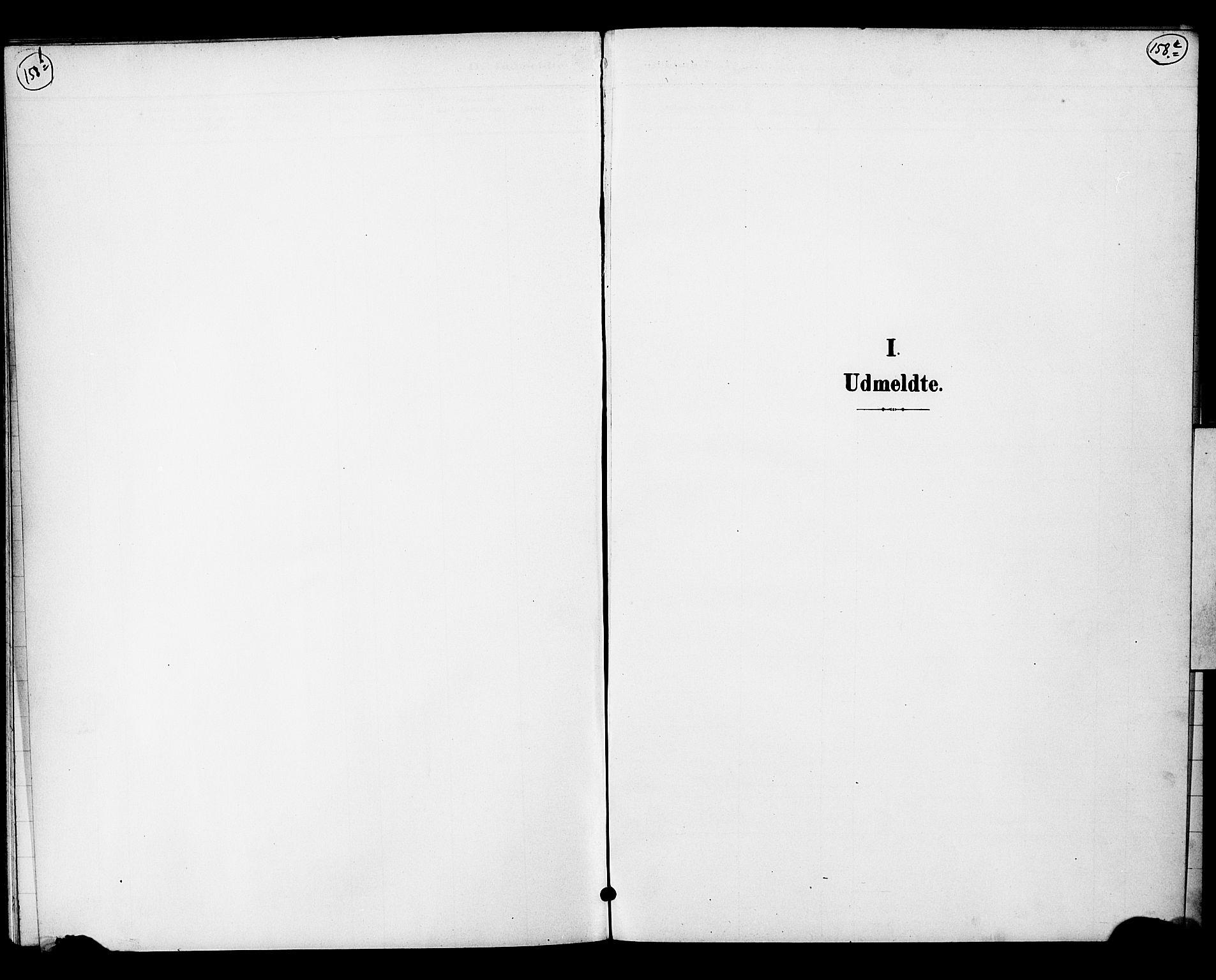 SAO, Nannestad prestekontor Kirkebøker, G/Gc/L0001: Klokkerbok nr. III 1, 1901-1916, s. 158b-158c