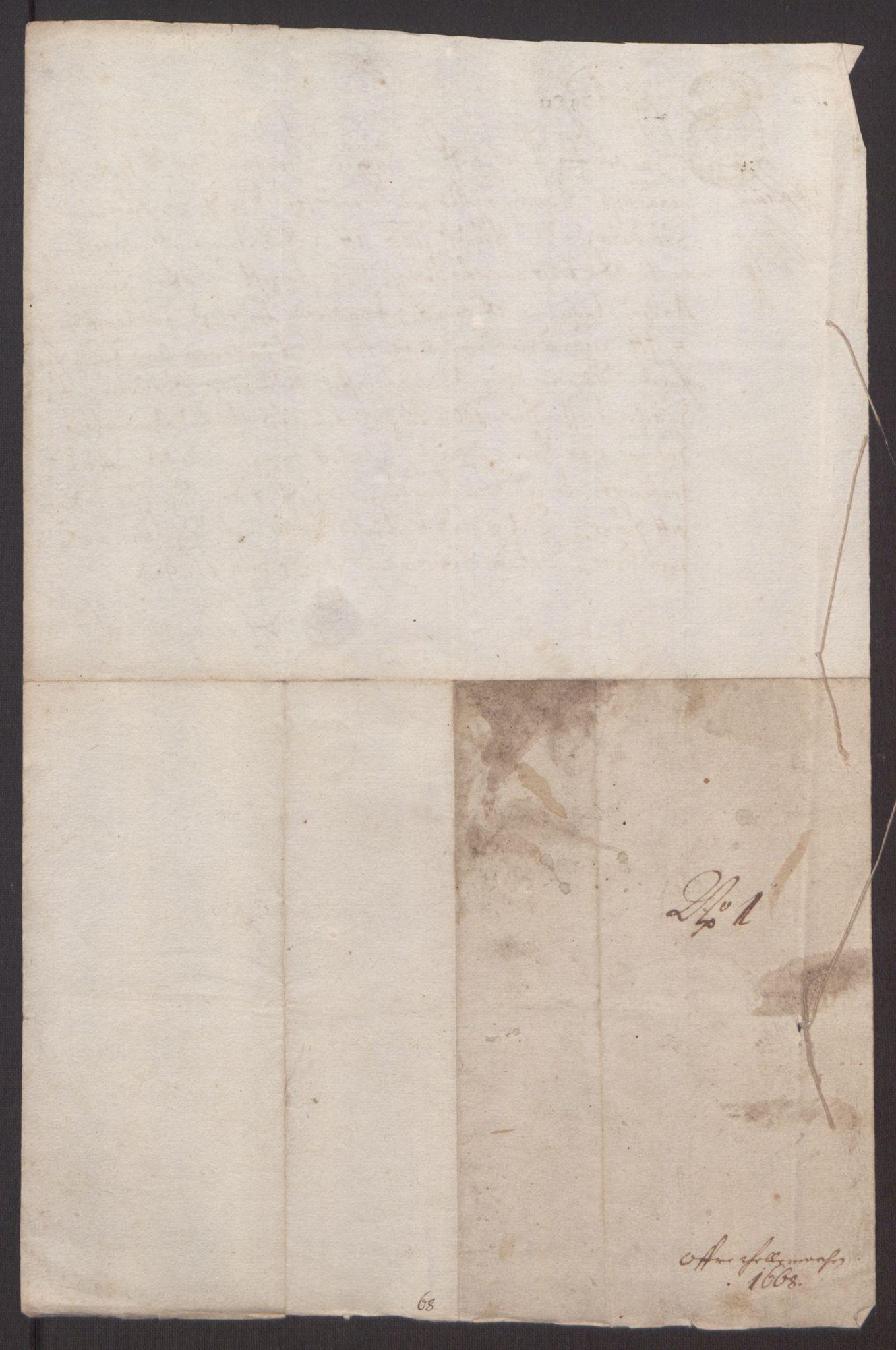 RA, Rentekammeret inntil 1814, Reviderte regnskaper, Fogderegnskap, R35/L2059: Fogderegnskap Øvre og Nedre Telemark, 1668-1670, s. 7