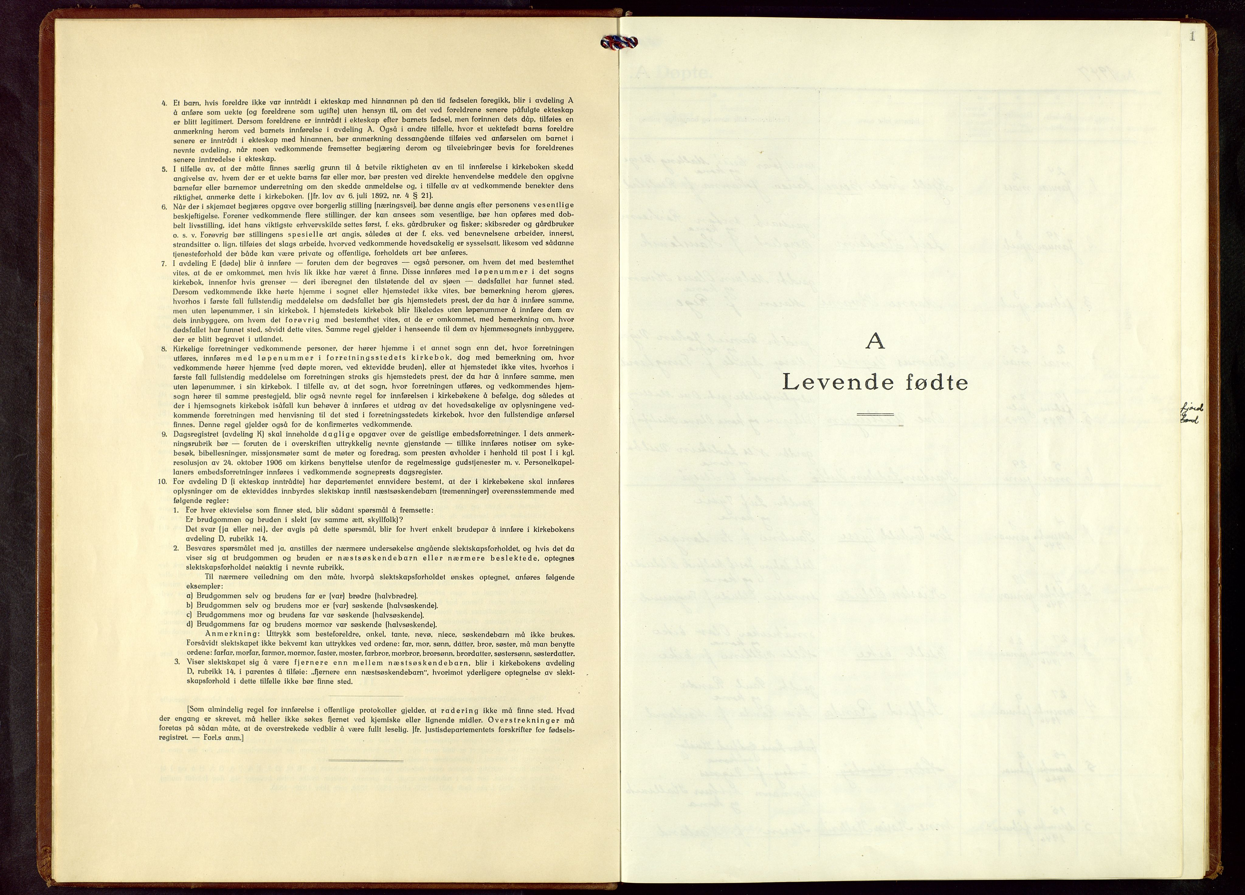 SAST, Finnøy sokneprestkontor, H/Ha/Hab/L0009: Klokkerbok nr. B 9, 1947-1964