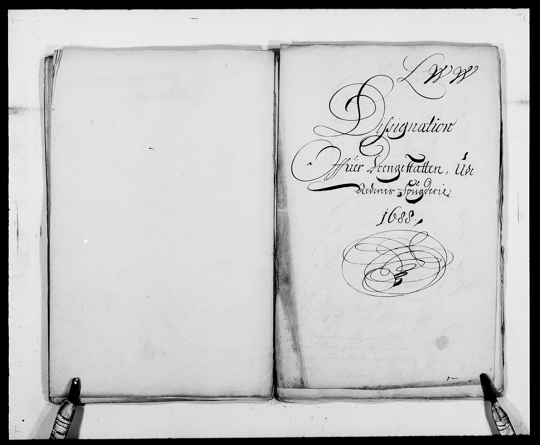 RA, Rentekammeret inntil 1814, Reviderte regnskaper, Fogderegnskap, R39/L2309: Fogderegnskap Nedenes, 1684-1689, s. 231