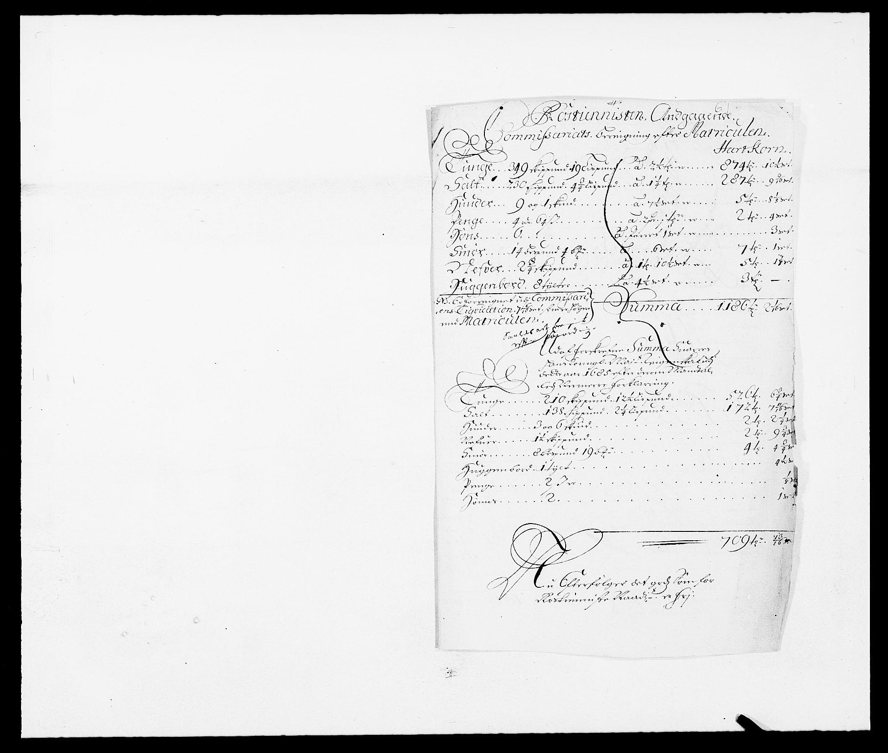 RA, Rentekammeret inntil 1814, Reviderte regnskaper, Fogderegnskap, R09/L0433: Fogderegnskap Follo, 1685-1686, s. 232