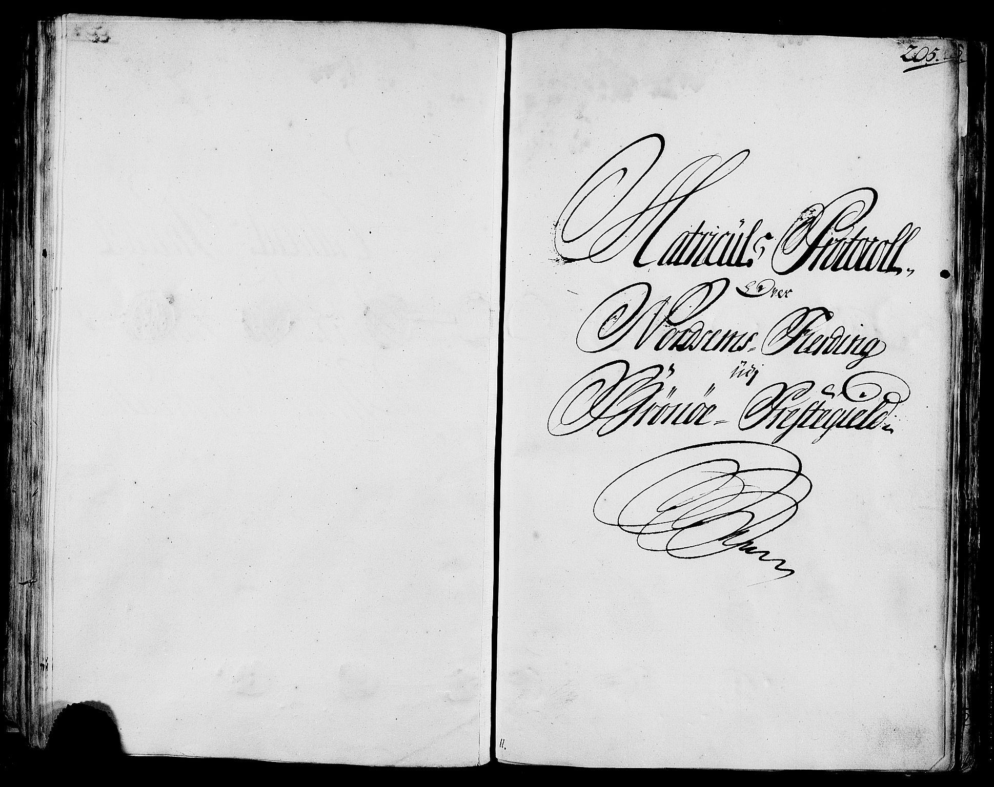 RA, Rentekammeret inntil 1814, Realistisk ordnet avdeling, N/Nb/Nbf/L0170: Helgeland eksaminasjonsprotokoll, 1723, s. 204b-205a