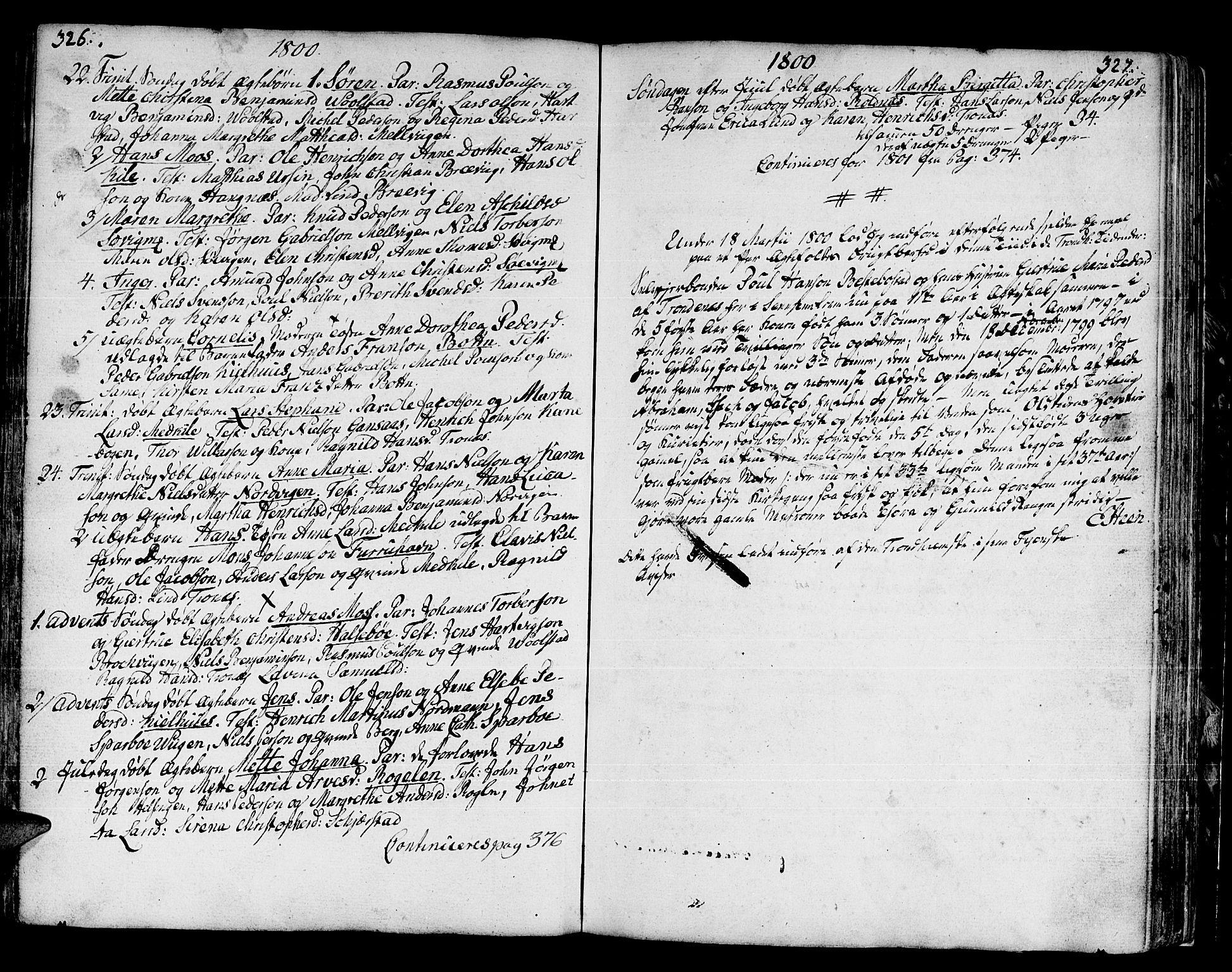 SATØ, Trondenes sokneprestkontor, H/Ha/L0003kirke: Ministerialbok nr. 3, 1783-1803, s. 326-327
