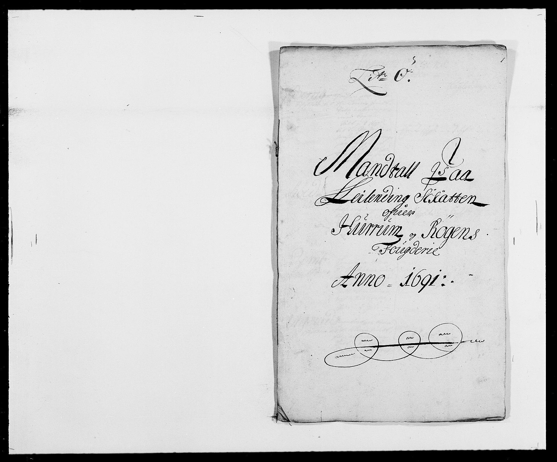 RA, Rentekammeret inntil 1814, Reviderte regnskaper, Fogderegnskap, R29/L1693: Fogderegnskap Hurum og Røyken, 1688-1693, s. 199