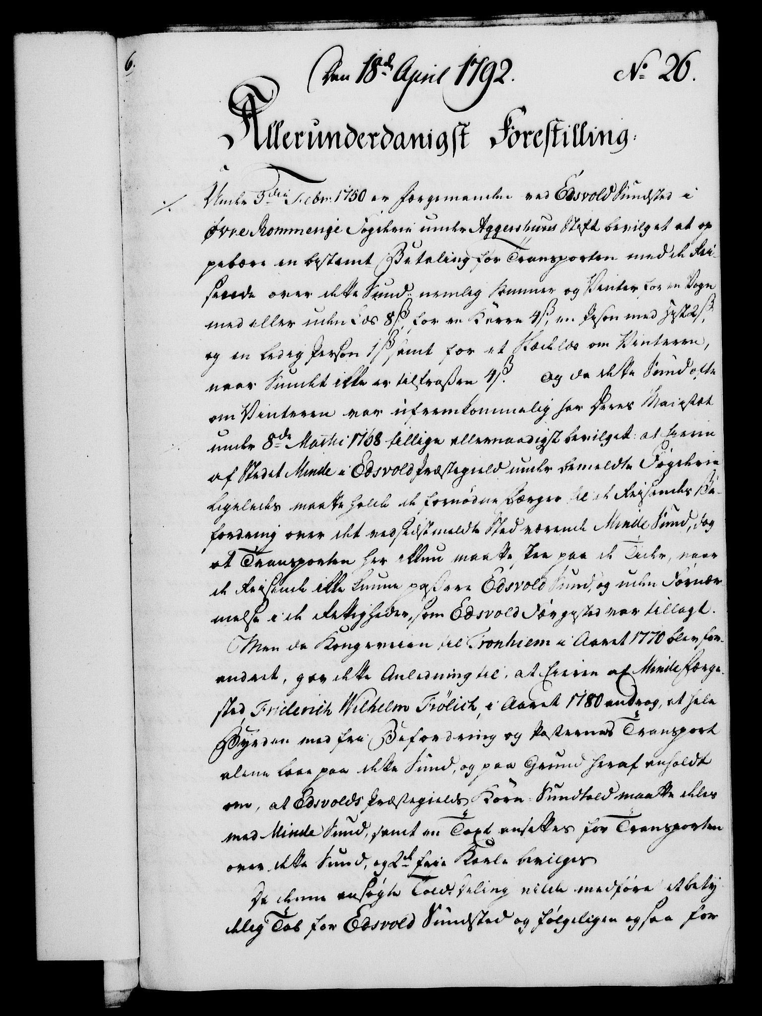 RA, Rentekammeret, Kammerkanselliet, G/Gf/Gfa/L0074: Norsk relasjons- og resolusjonsprotokoll (merket RK 52.74), 1792, s. 166