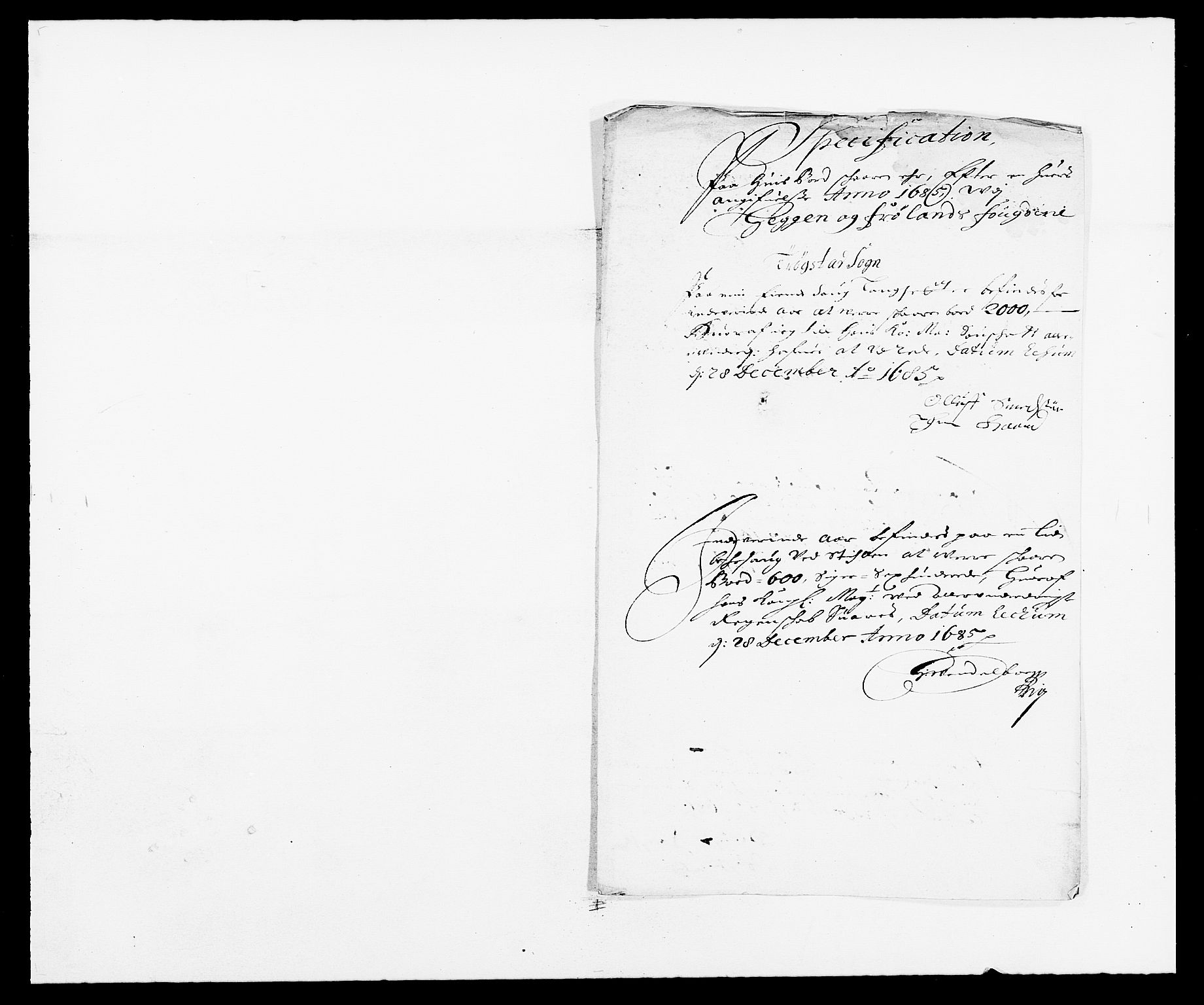RA, Rentekammeret inntil 1814, Reviderte regnskaper, Fogderegnskap, R06/L0281: Fogderegnskap Heggen og Frøland, 1678-1686, s. 47