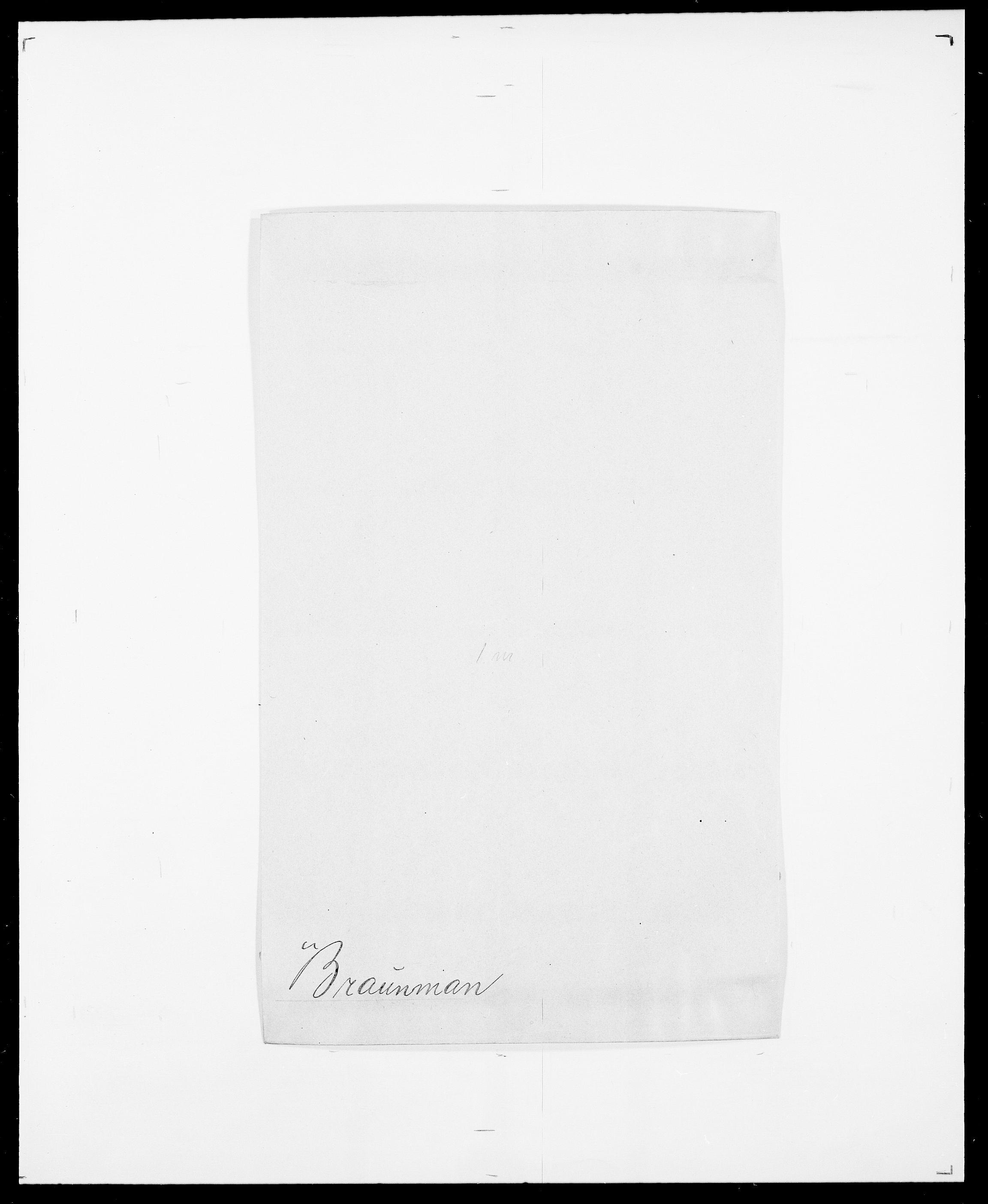 SAO, Delgobe, Charles Antoine - samling, D/Da/L0006: Brambani - Brønø, s. 207