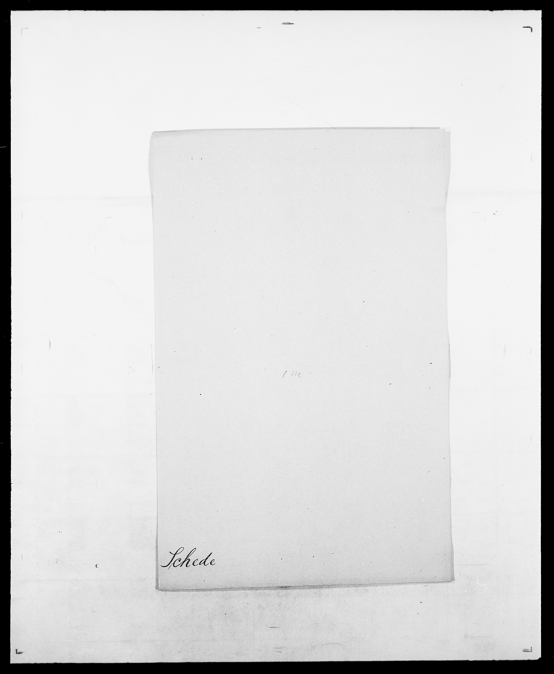 SAO, Delgobe, Charles Antoine - samling, D/Da/L0034: Saabye - Schmincke, s. 424