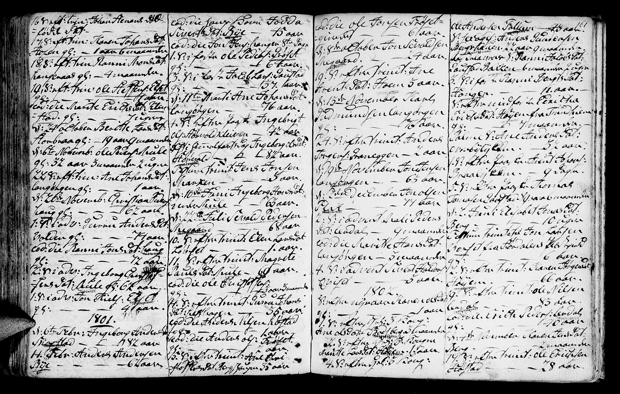 SAT, Ministerialprotokoller, klokkerbøker og fødselsregistre - Sør-Trøndelag, 612/L0370: Ministerialbok nr. 612A04, 1754-1802, s. 161