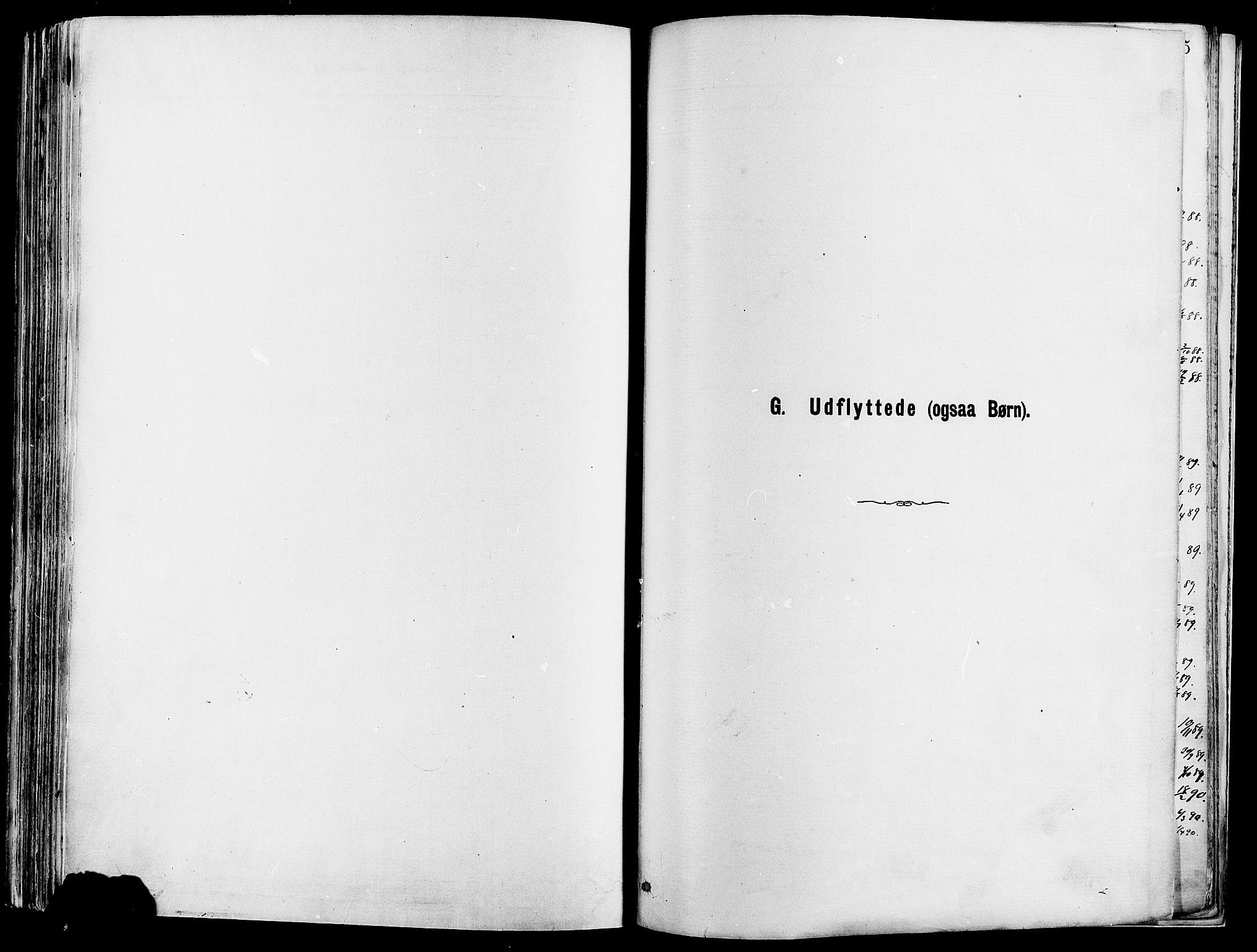 SAH, Vågå prestekontor, Ministerialbok nr. 8, 1886-1904