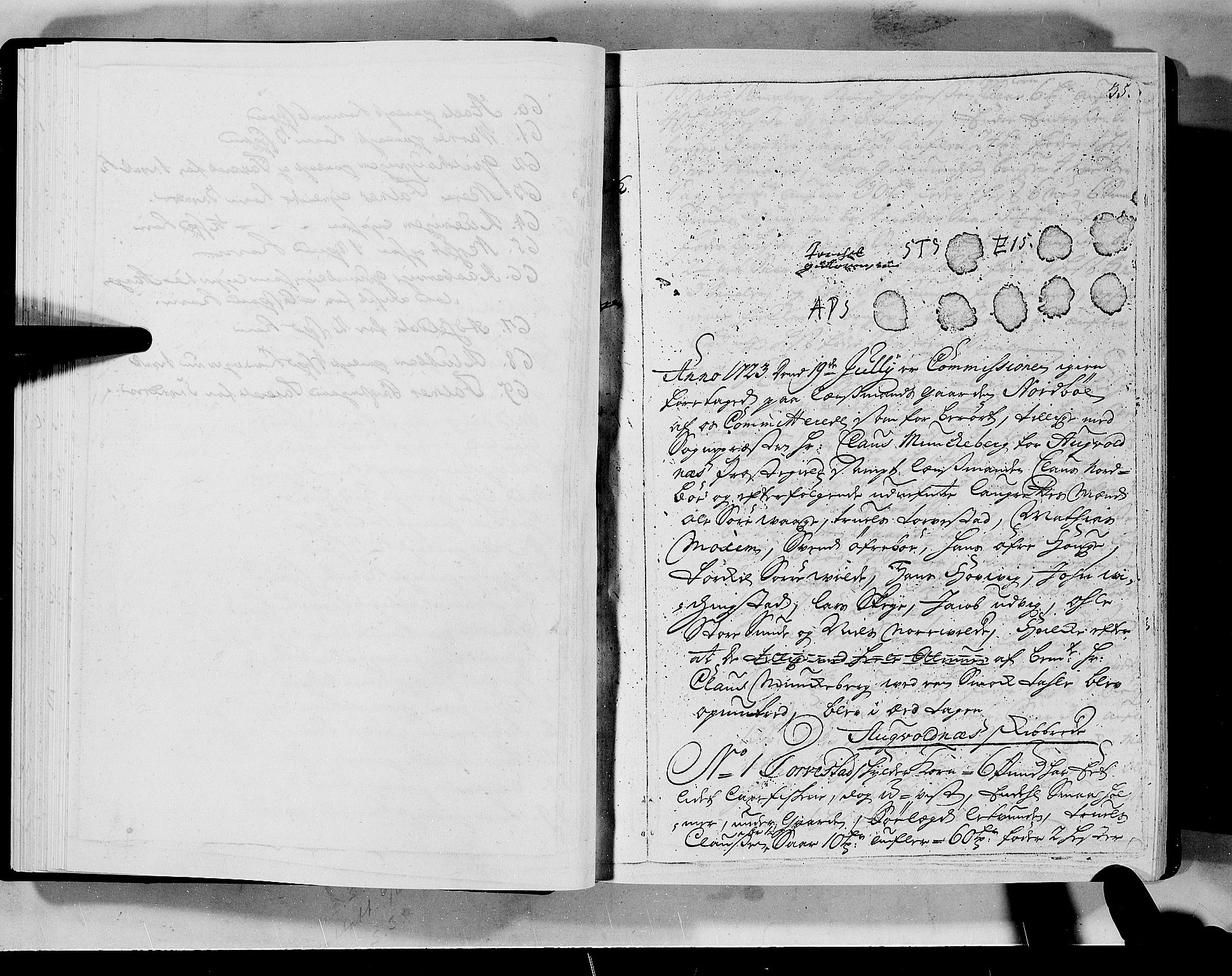 RA, Rentekammeret inntil 1814, Realistisk ordnet avdeling, N/Nb/Nbf/L0133a: Ryfylke eksaminasjonsprotokoll, 1723, s. 35a