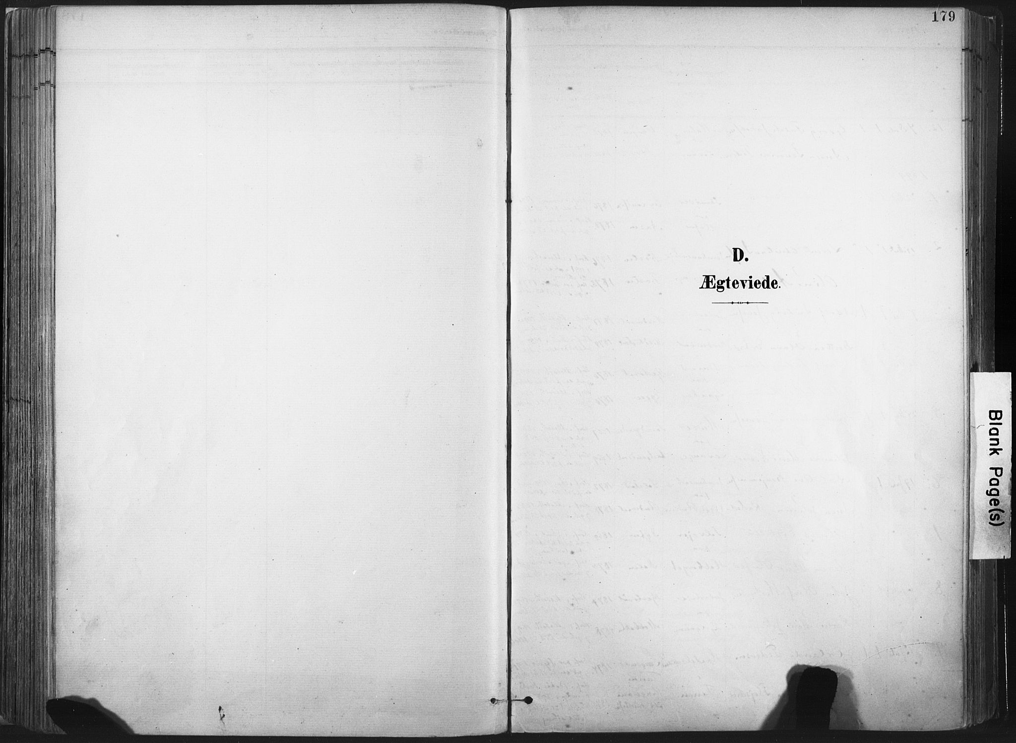 SAT, Ministerialprotokoller, klokkerbøker og fødselsregistre - Nord-Trøndelag, 717/L0162: Ministerialbok nr. 717A12, 1898-1923, s. 179