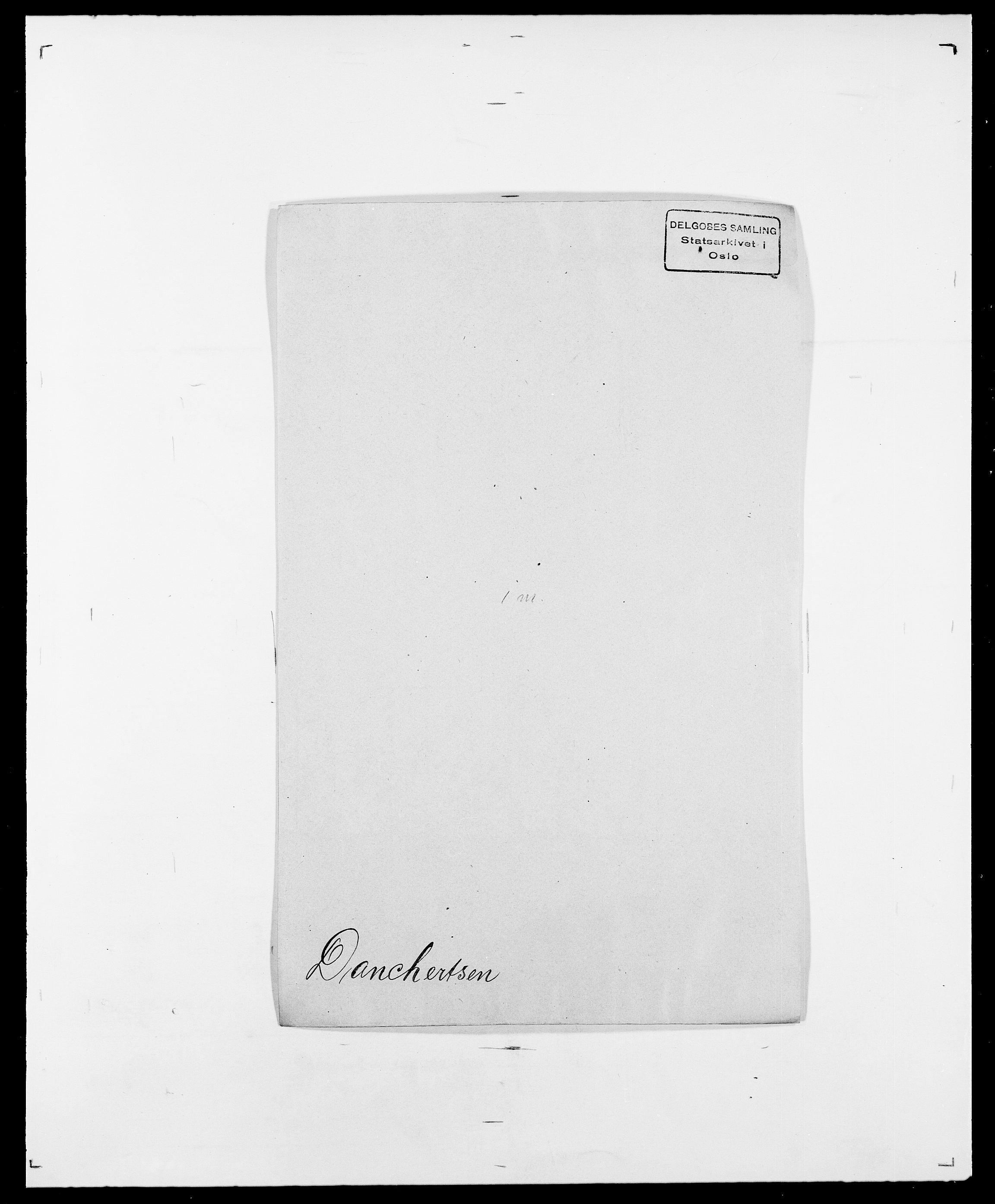 SAO, Delgobe, Charles Antoine - samling, D/Da/L0009: Dahl - v. Düren, s. 293