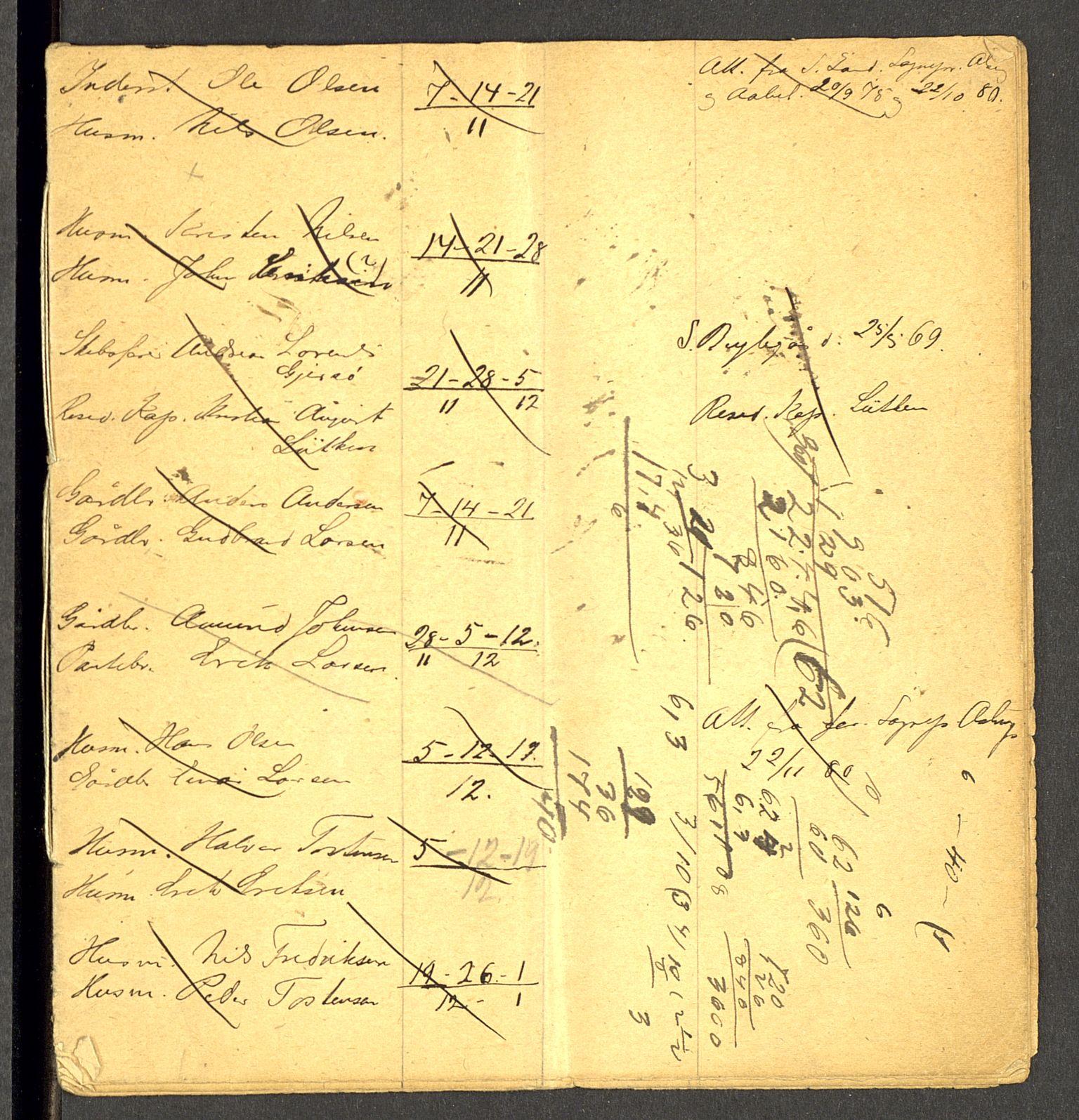 SAH, Gran prestekontor, Lysningsprotokoll nr. -, 1881-1882