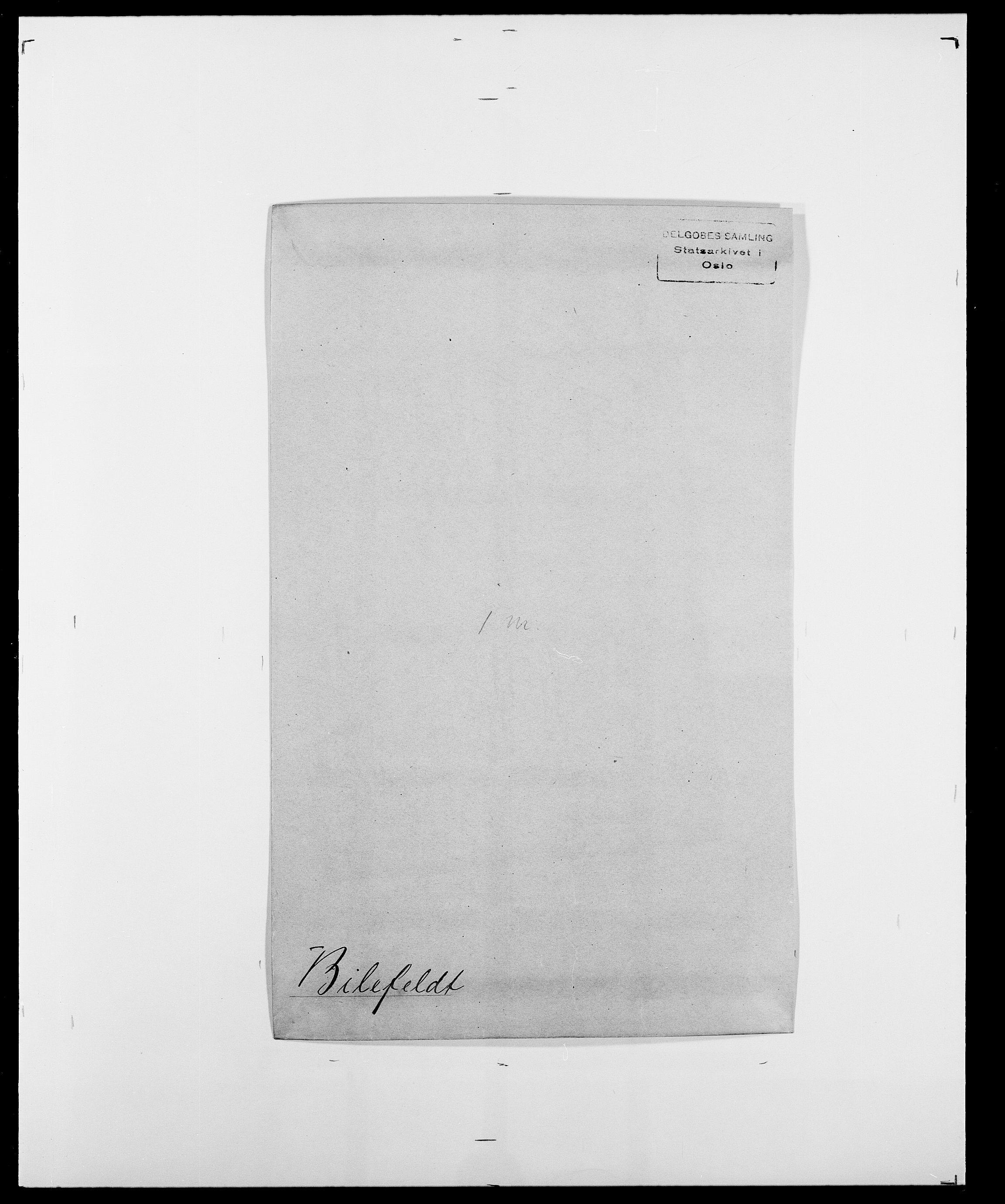 SAO, Delgobe, Charles Antoine - samling, D/Da/L0004: Bergendahl - Blære, s. 274