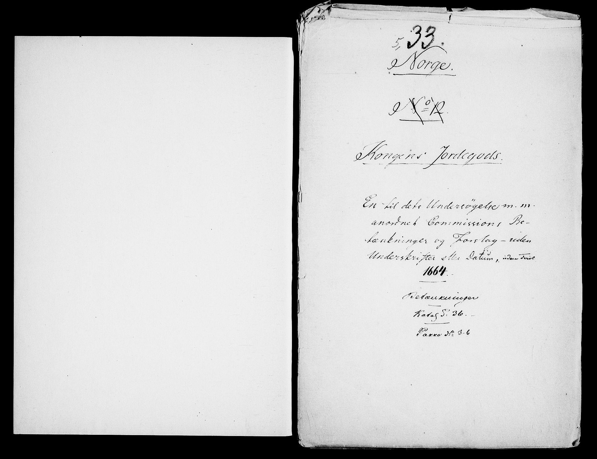 RA, Danske Kanselli, Skapsaker, G/L0019: Tillegg til skapsakene, 1616-1753, s. 174