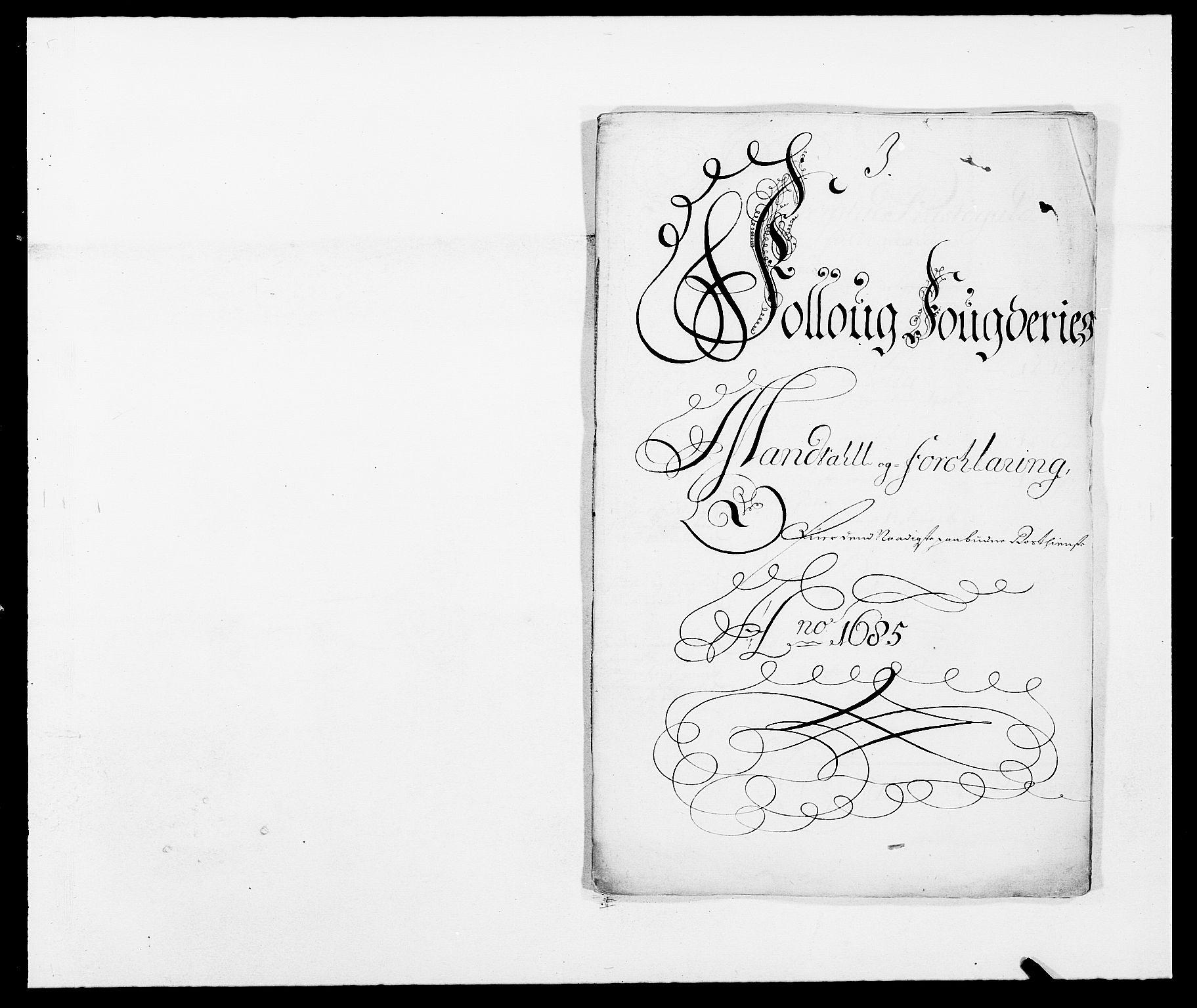 RA, Rentekammeret inntil 1814, Reviderte regnskaper, Fogderegnskap, R09/L0433: Fogderegnskap Follo, 1685-1686, s. 202