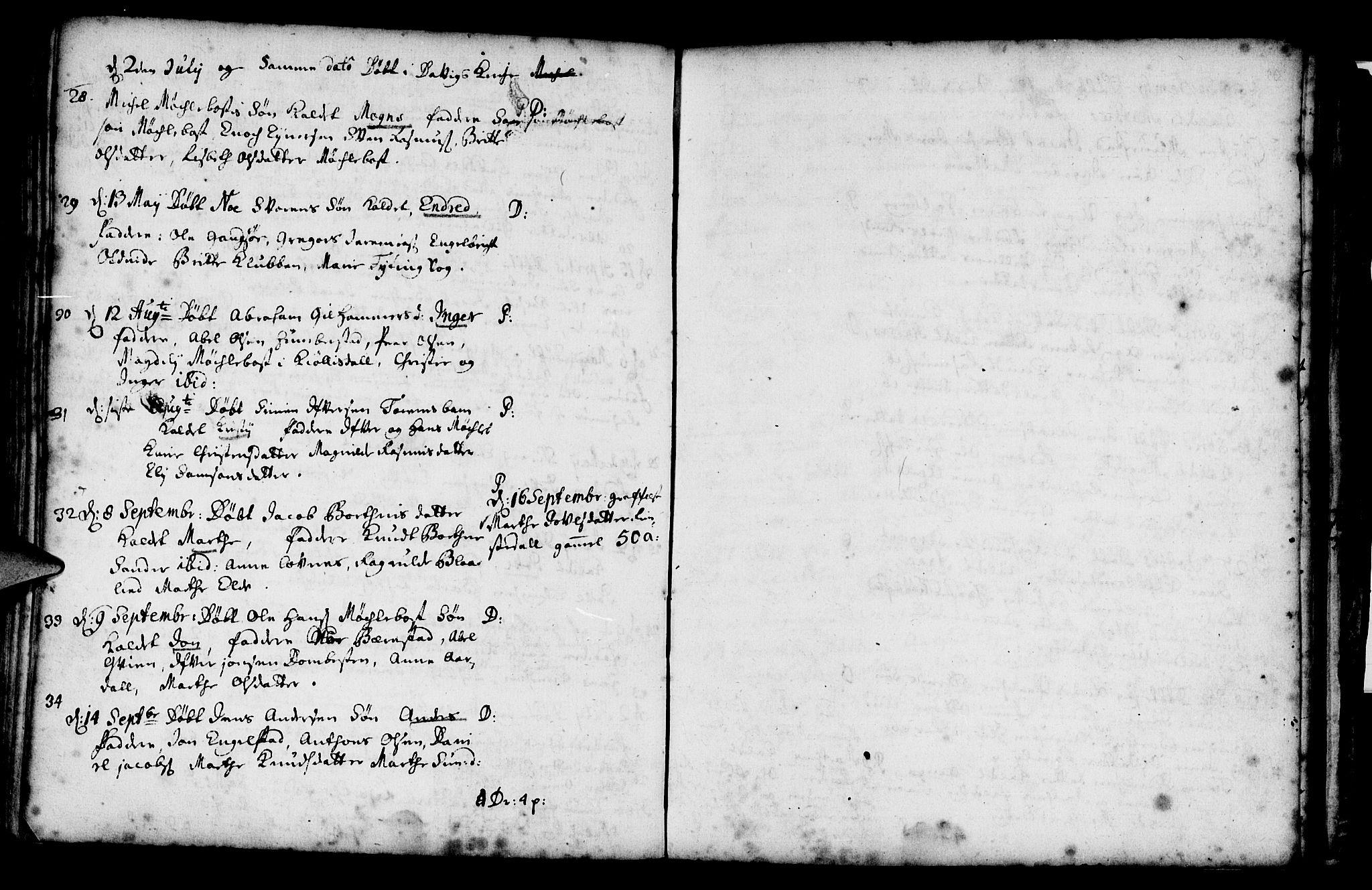 SAB, Davik sokneprestembete, Ministerialbok nr. A 1, 1710-1742, s. 110