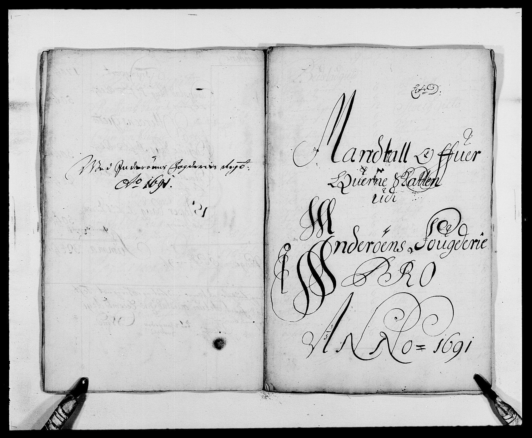 RA, Rentekammeret inntil 1814, Reviderte regnskaper, Fogderegnskap, R63/L4307: Fogderegnskap Inderøy, 1690-1691, s. 298