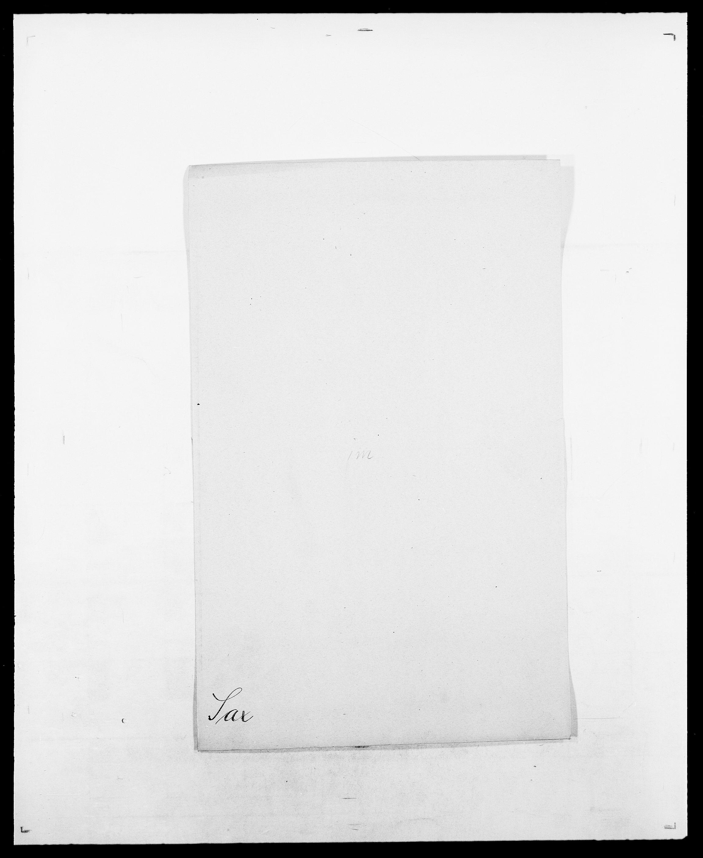 SAO, Delgobe, Charles Antoine - samling, D/Da/L0034: Saabye - Schmincke, s. 225