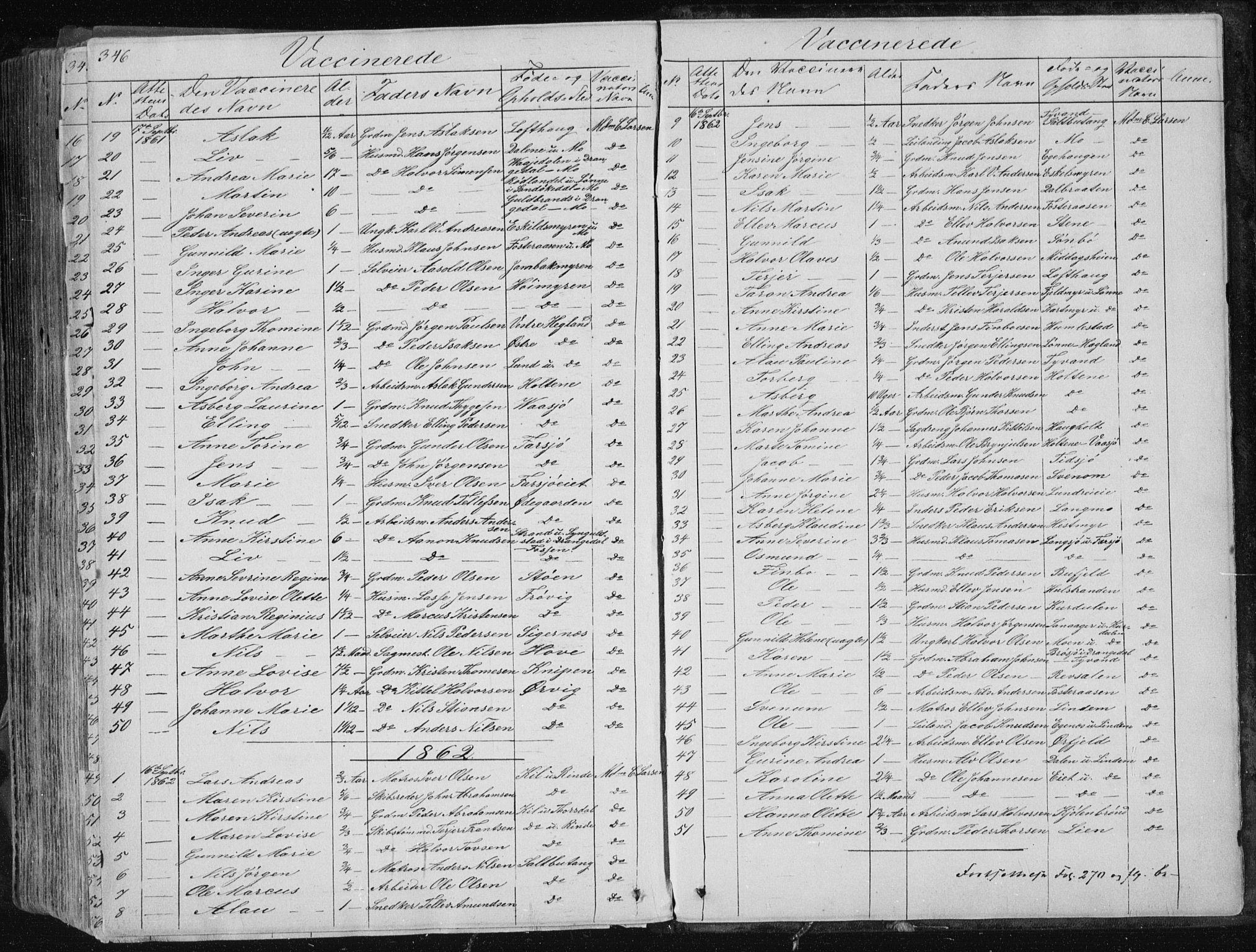 SAKO, Sannidal kirkebøker, F/Fa/L0007: Ministerialbok nr. 7, 1831-1854, s. 346