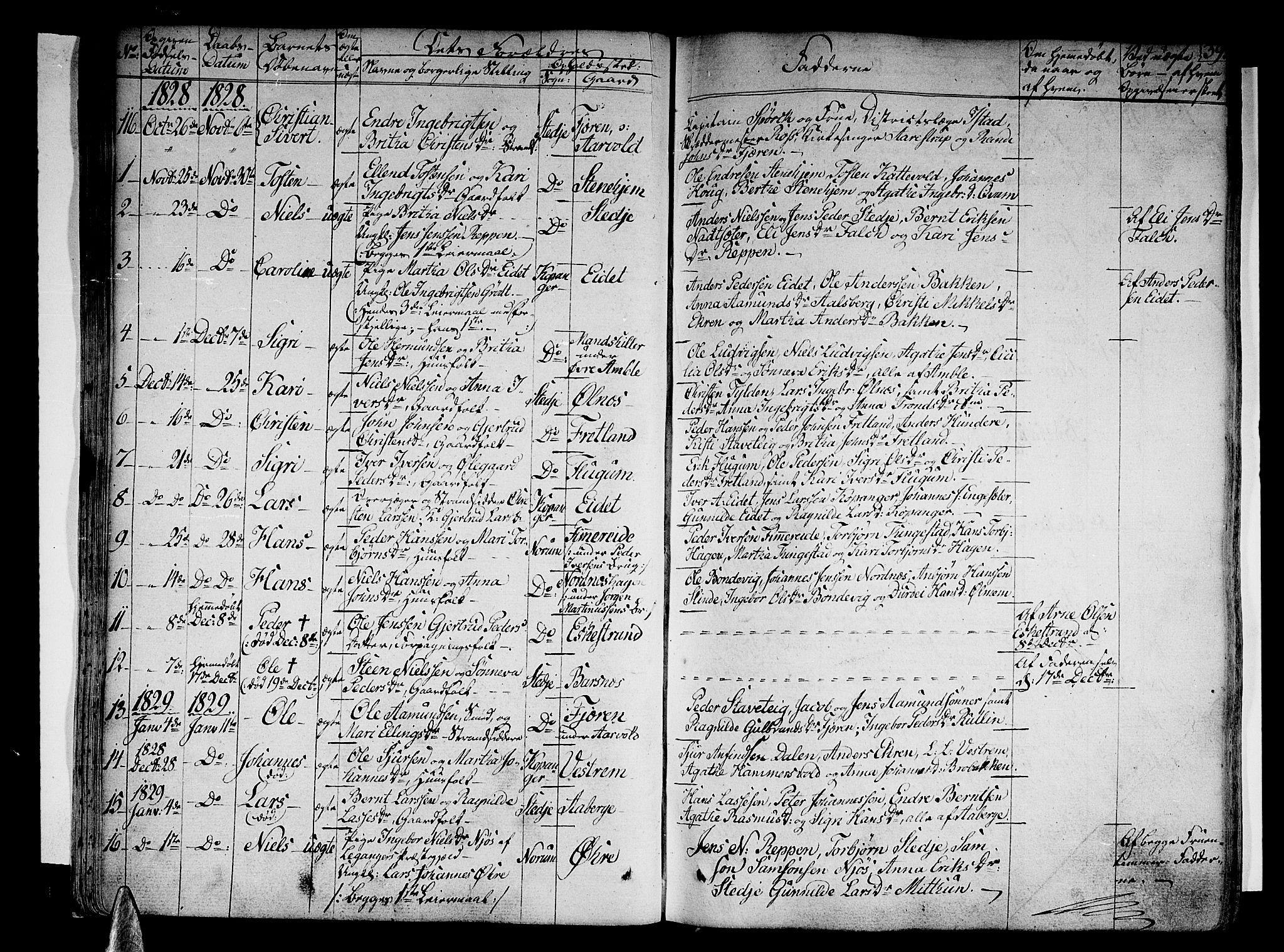 SAB, Sogndal sokneprestembete, H/Haa/Haaa/L0010: Ministerialbok nr. A 10, 1821-1838, s. 39