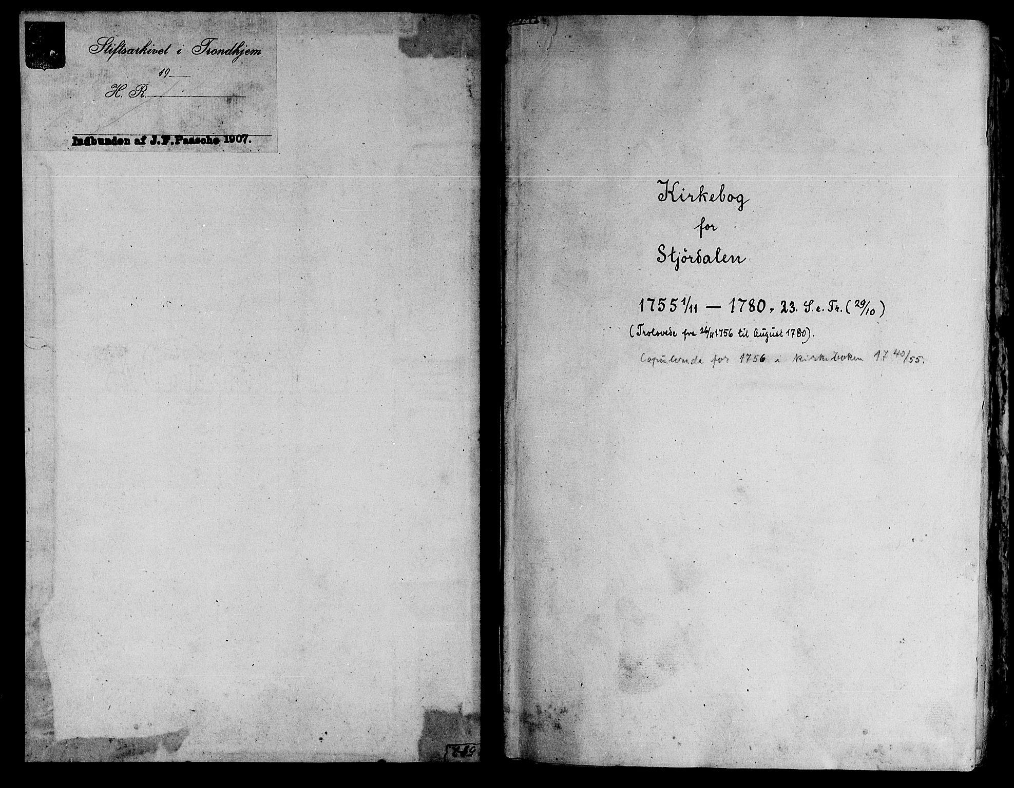 SAT, Ministerialprotokoller, klokkerbøker og fødselsregistre - Nord-Trøndelag, 709/L0057: Ministerialbok nr. 709A05, 1755-1780