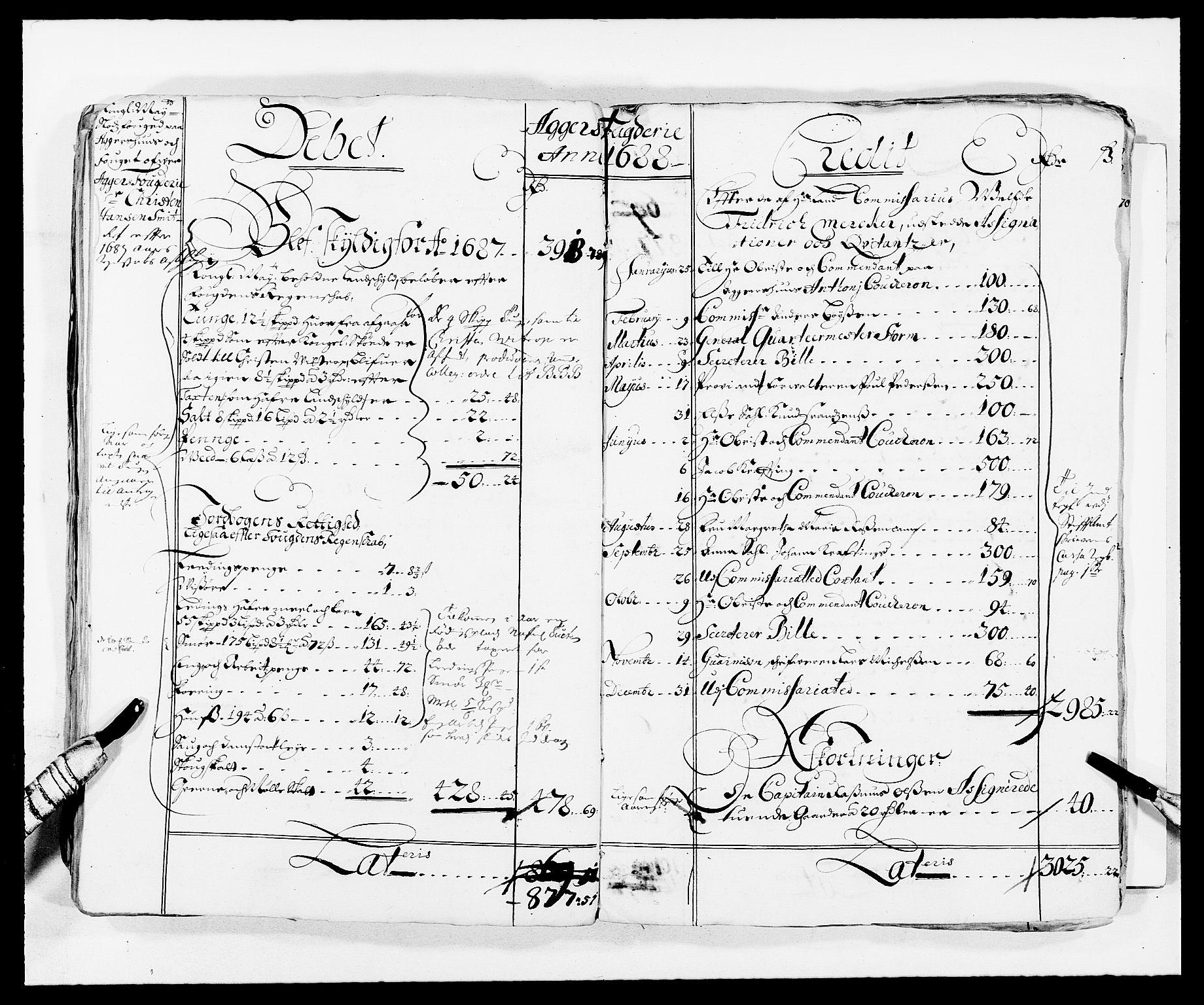 RA, Rentekammeret inntil 1814, Reviderte regnskaper, Fogderegnskap, R08/L0420: Fogderegnskap Aker, 1682-1691, s. 74