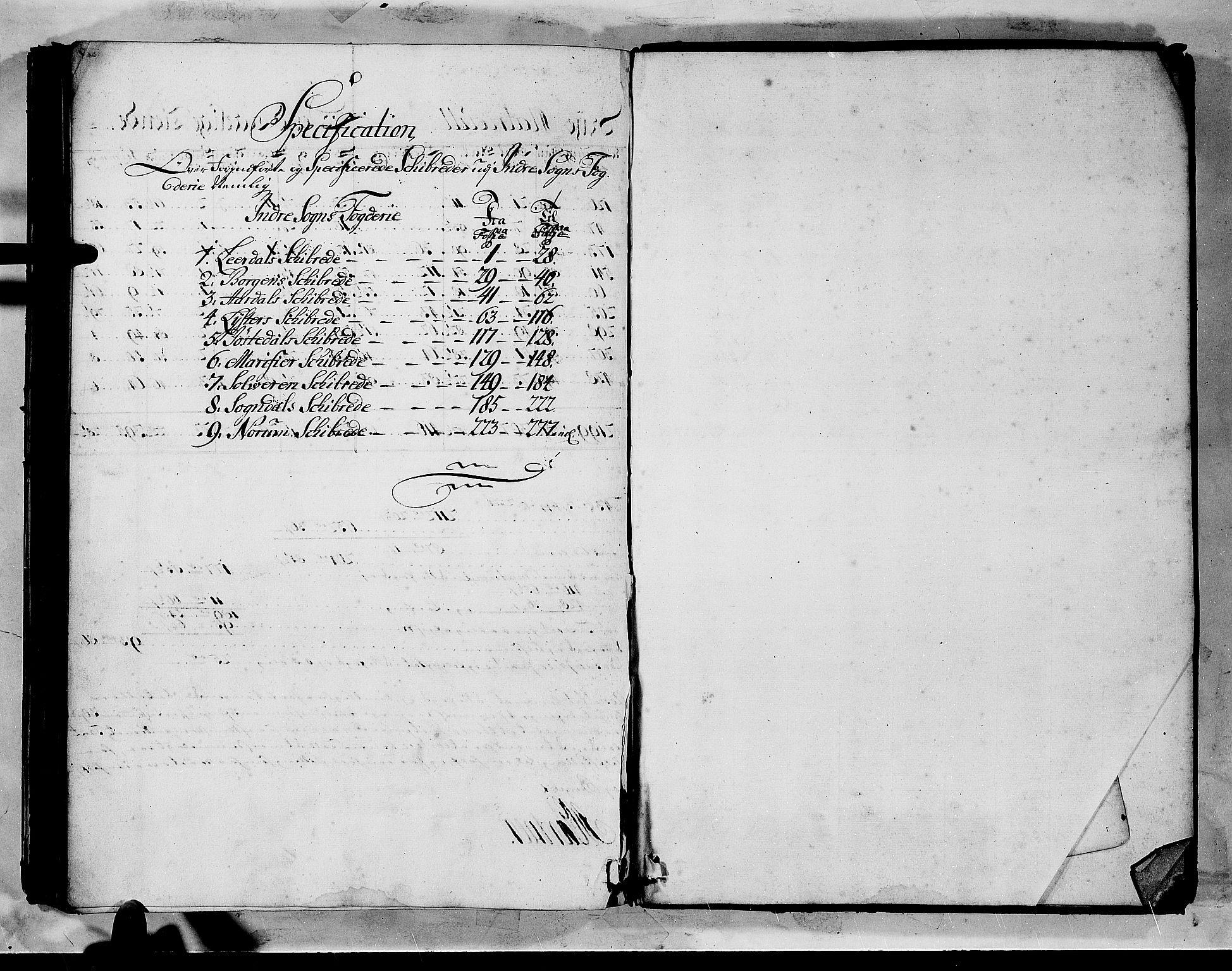 RA, Rentekammeret inntil 1814, Realistisk ordnet avdeling, N/Nb/Nbf/L0144: Indre Sogn matrikkelprotokoll, 1723, s. upaginert