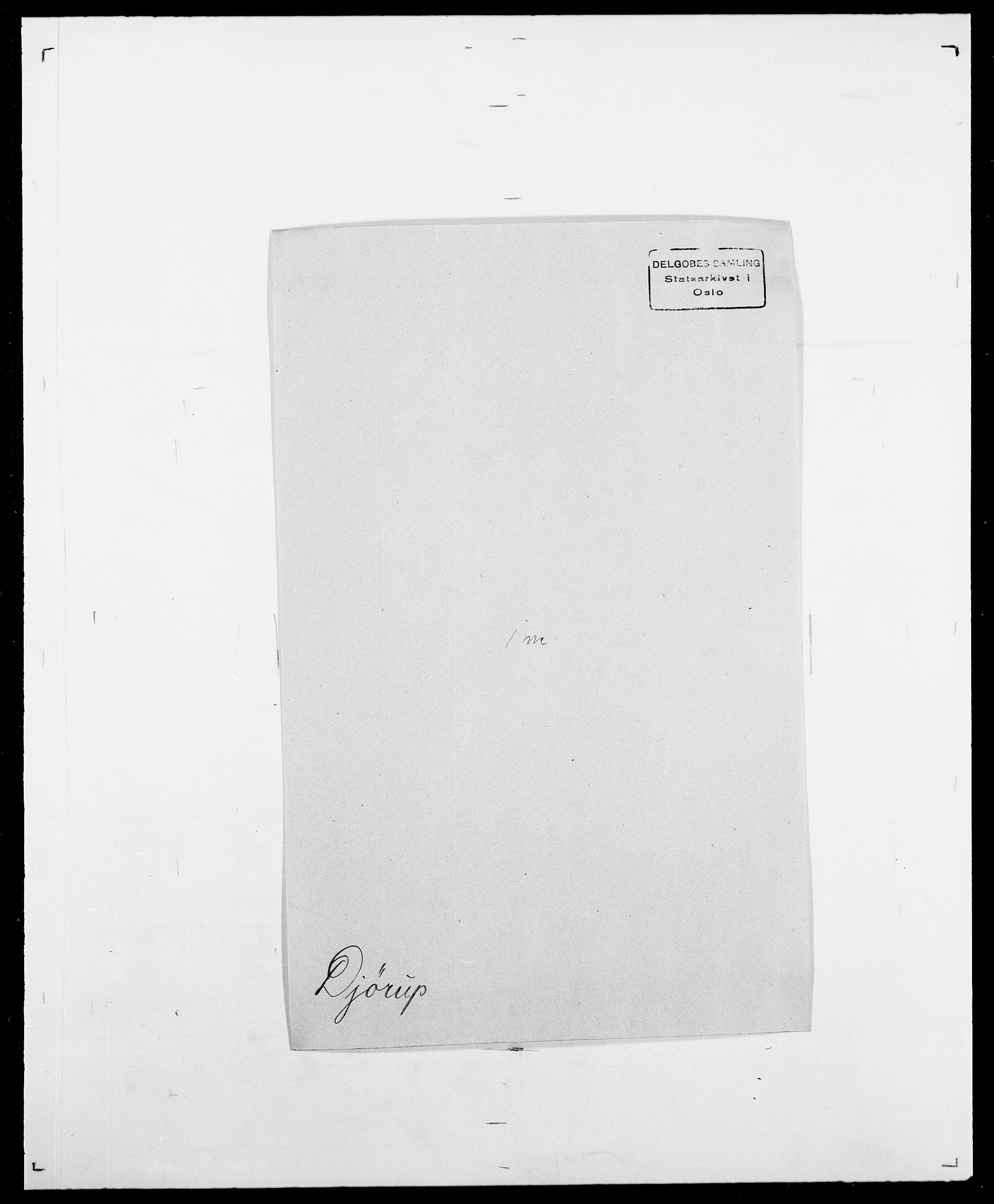 SAO, Delgobe, Charles Antoine - samling, D/Da/L0009: Dahl - v. Düren, s. 619