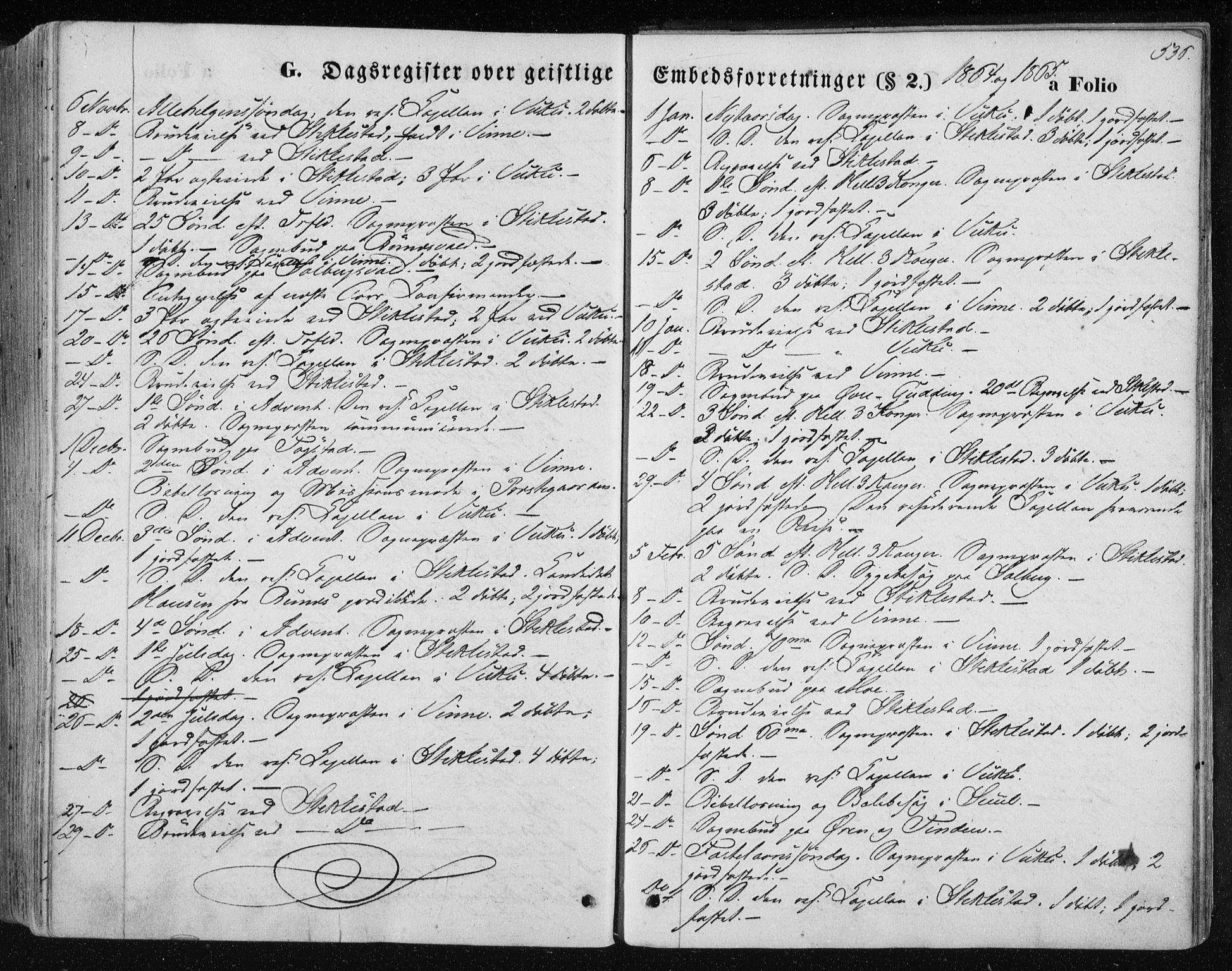 SAT, Ministerialprotokoller, klokkerbøker og fødselsregistre - Nord-Trøndelag, 723/L0241: Ministerialbok nr. 723A10, 1860-1869, s. 536