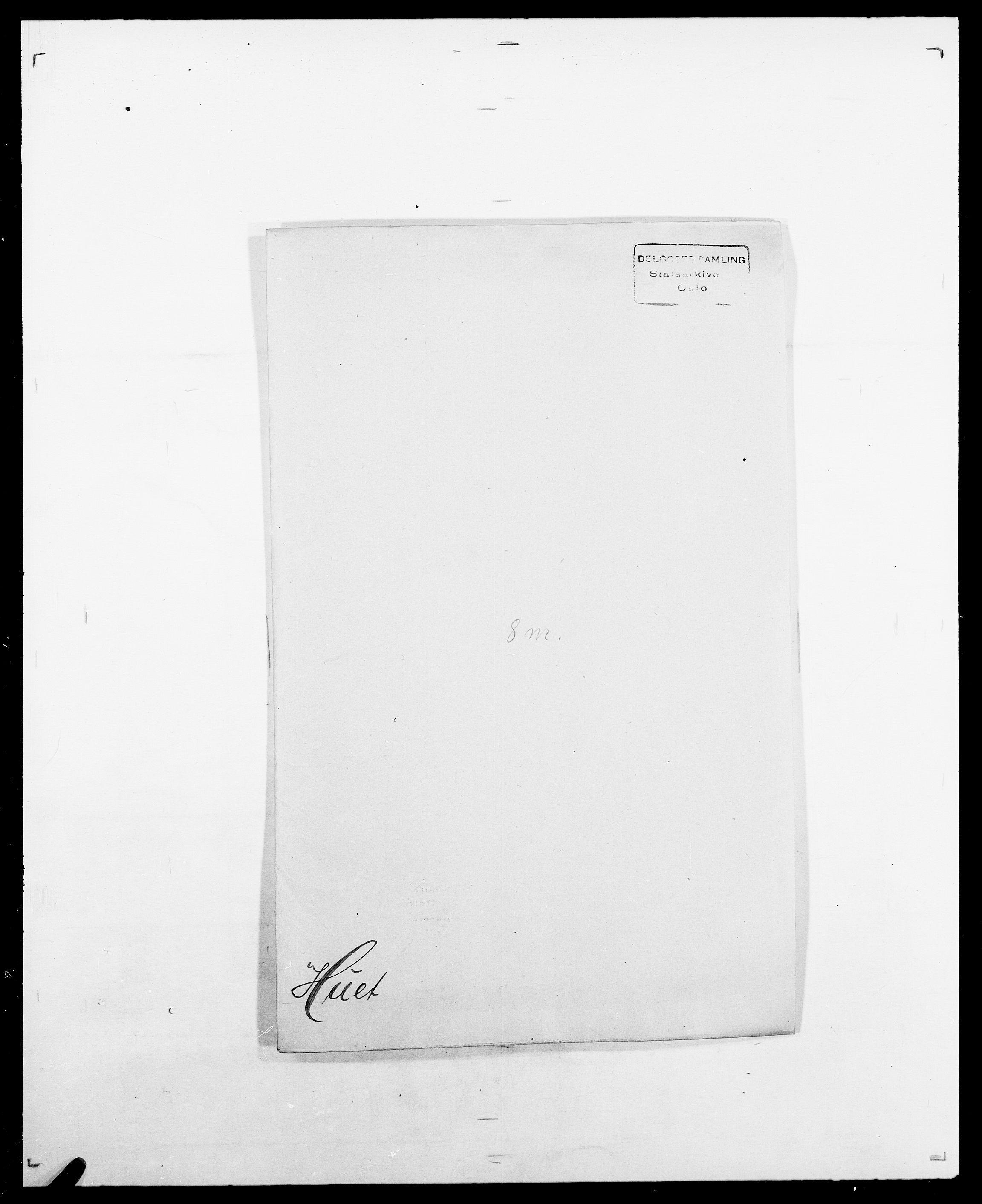 SAO, Delgobe, Charles Antoine - samling, D/Da/L0019: van der Hude - Joys, s. 5