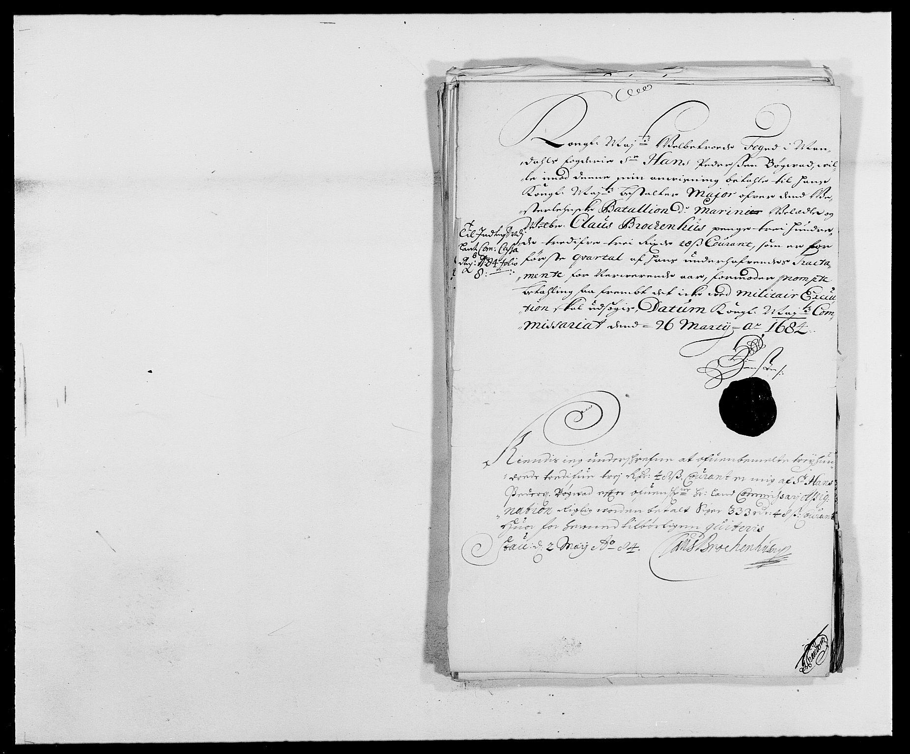 RA, Rentekammeret inntil 1814, Reviderte regnskaper, Fogderegnskap, R42/L2541: Mandal fogderi, 1681-1684, s. 304