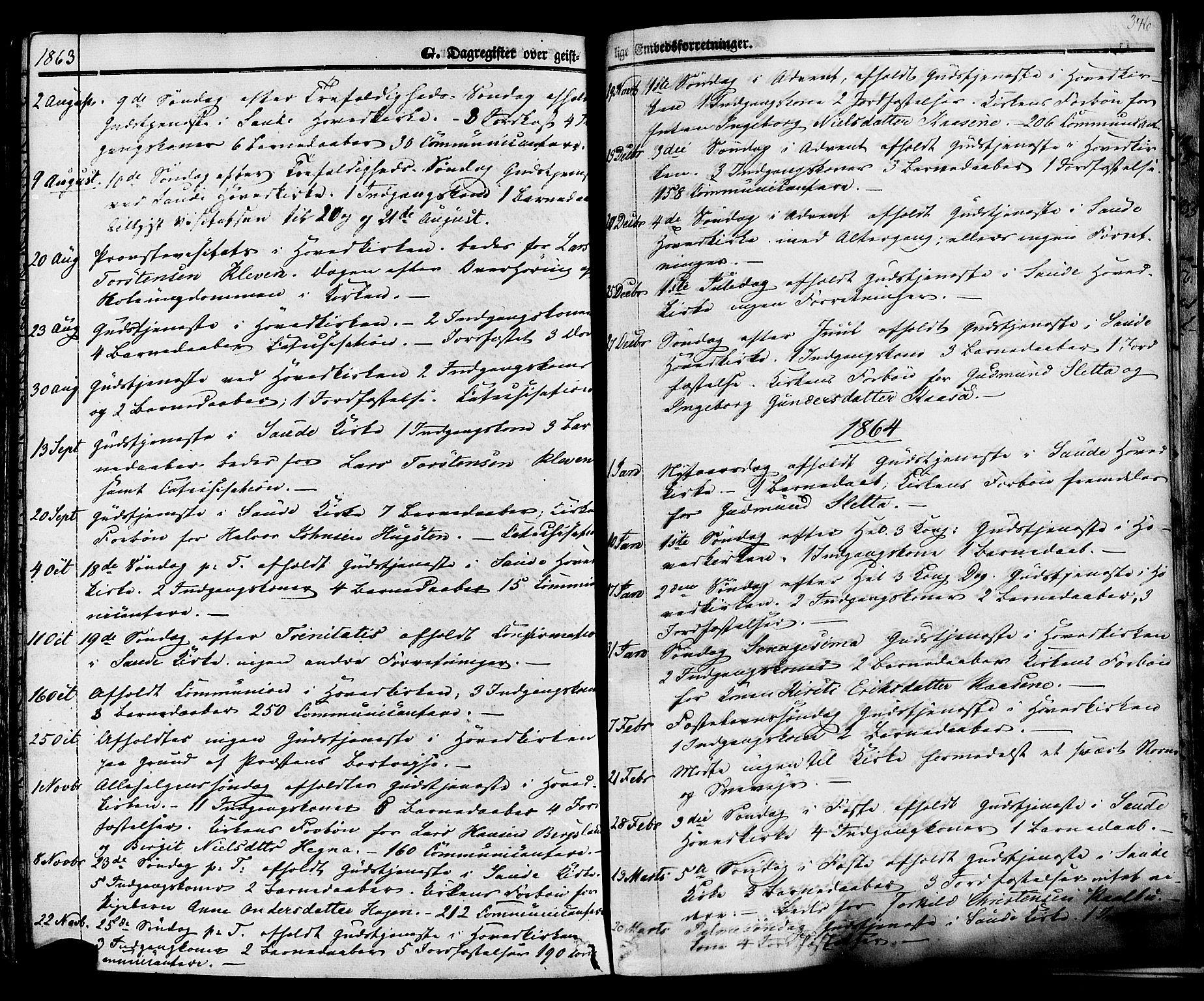 SAKO, Sauherad kirkebøker, F/Fa/L0007: Ministerialbok nr. I 7, 1851-1873, s. 346