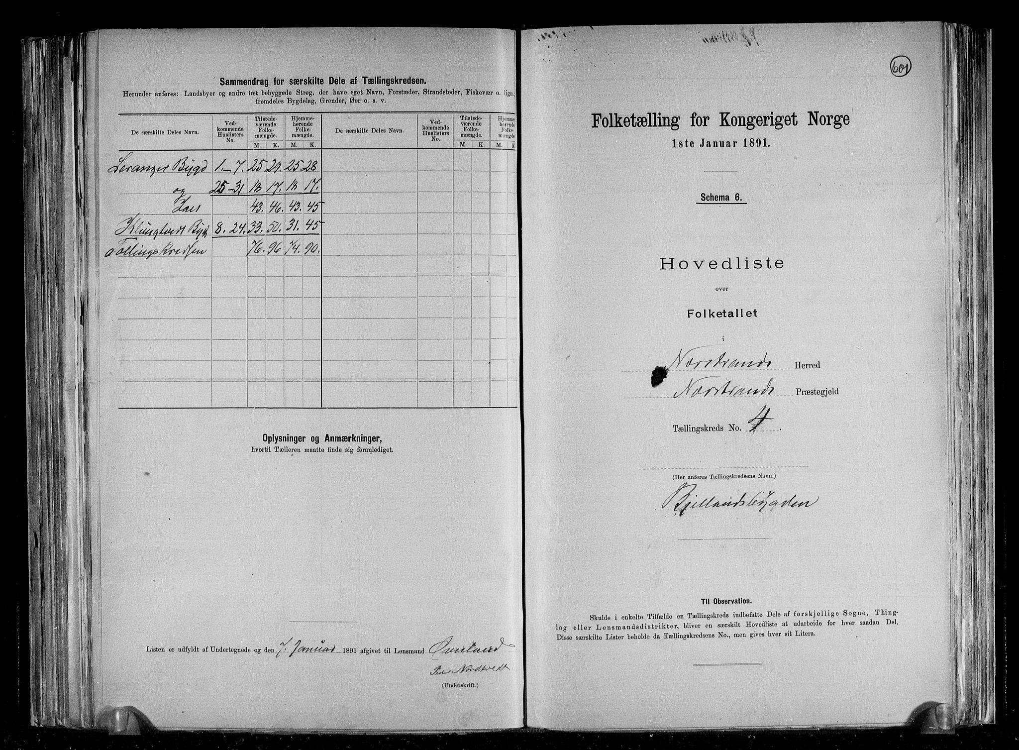 RA, Folketelling 1891 for 1139 Nedstrand herred, 1891, s. 11