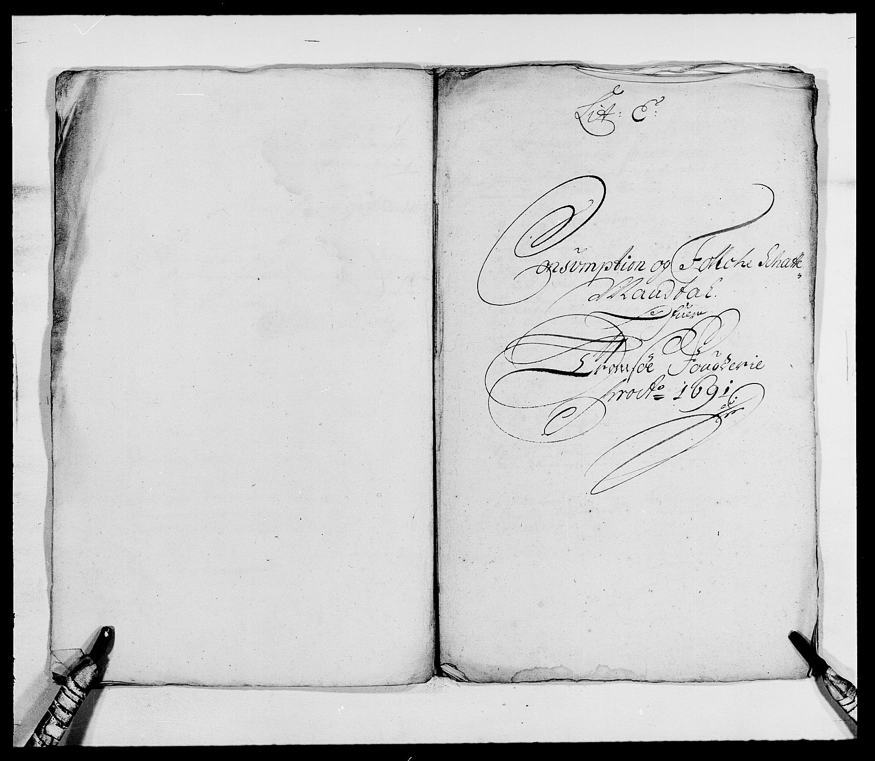 RA, Rentekammeret inntil 1814, Reviderte regnskaper, Fogderegnskap, R68/L4751: Fogderegnskap Senja og Troms, 1690-1693, s. 114