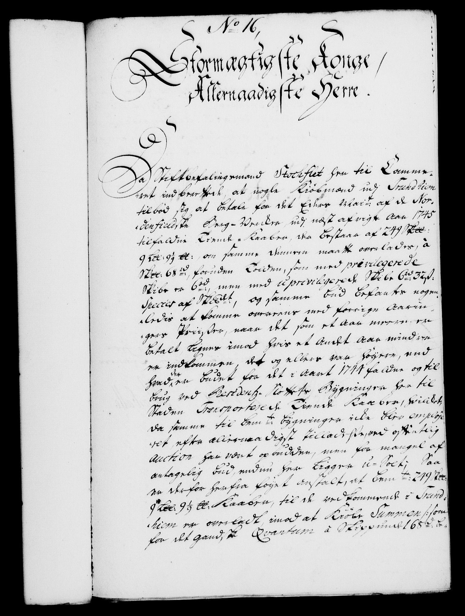 RA, Rentekammeret, Kammerkanselliet, G/Gf/Gfa/L0029: Norsk relasjons- og resolusjonsprotokoll (merket RK 52.29), 1746-1747, s. 119