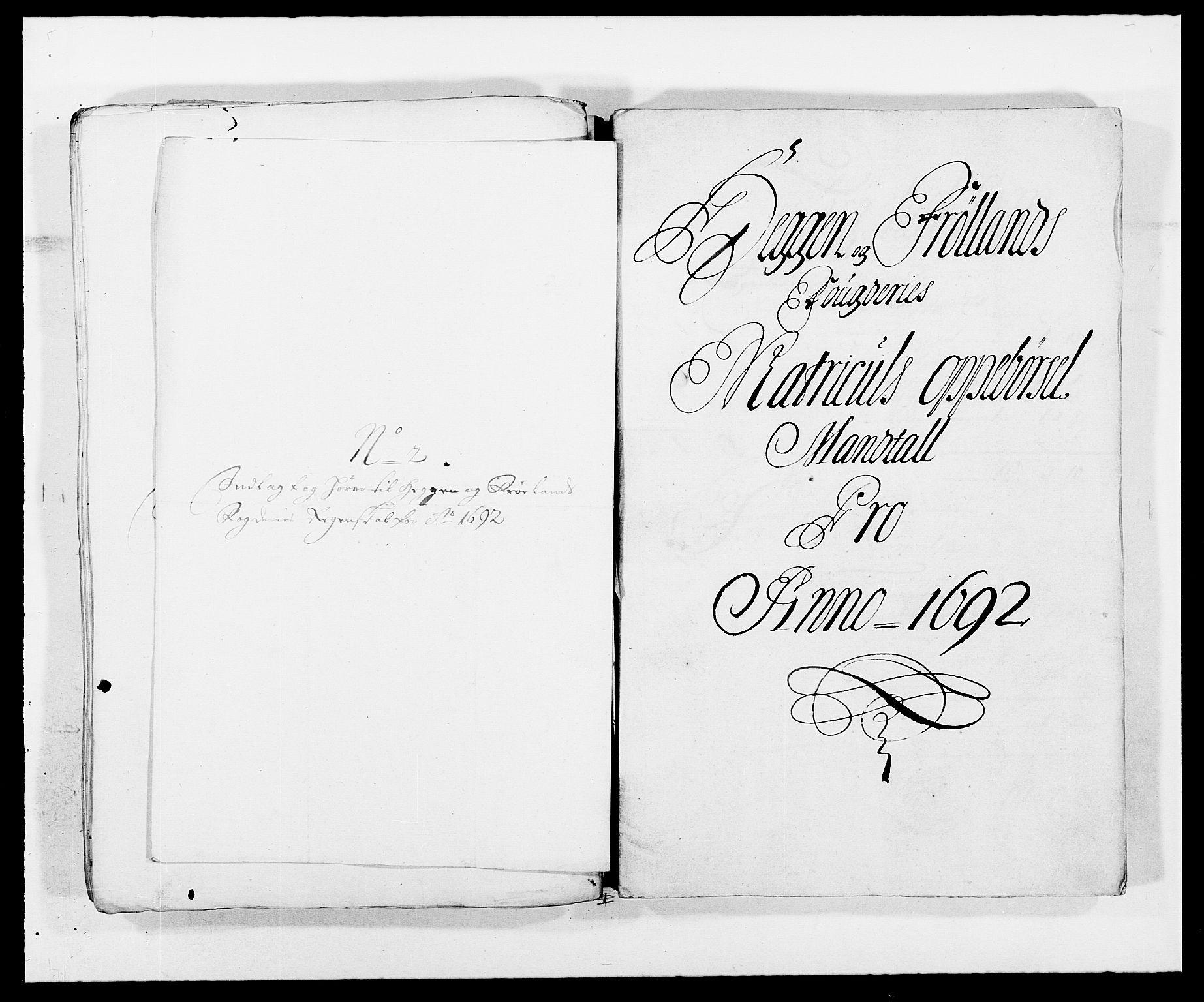 RA, Rentekammeret inntil 1814, Reviderte regnskaper, Fogderegnskap, R06/L0283: Fogderegnskap Heggen og Frøland, 1691-1693, s. 145