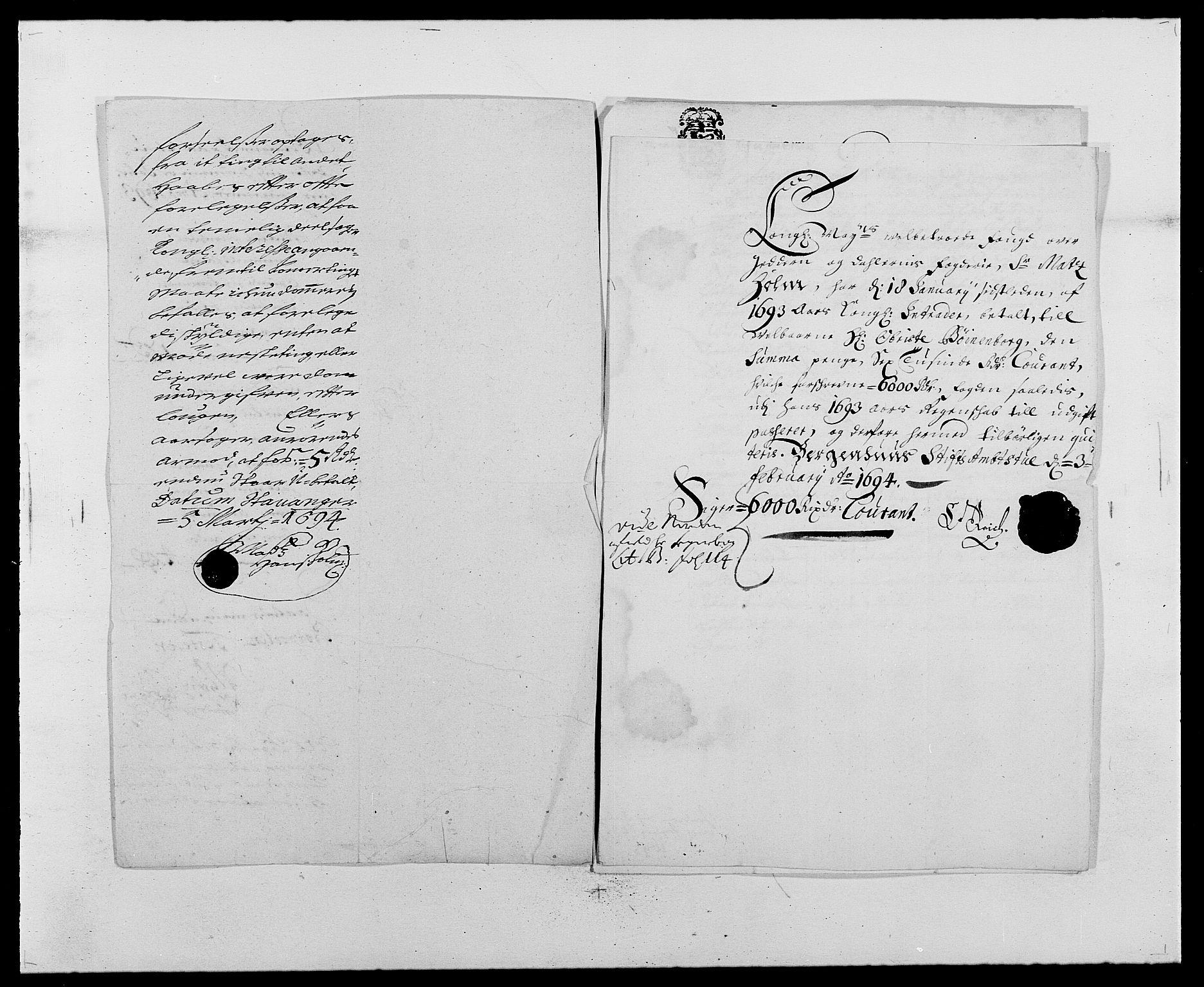 RA, Rentekammeret inntil 1814, Reviderte regnskaper, Fogderegnskap, R46/L2727: Fogderegnskap Jæren og Dalane, 1690-1693, s. 275
