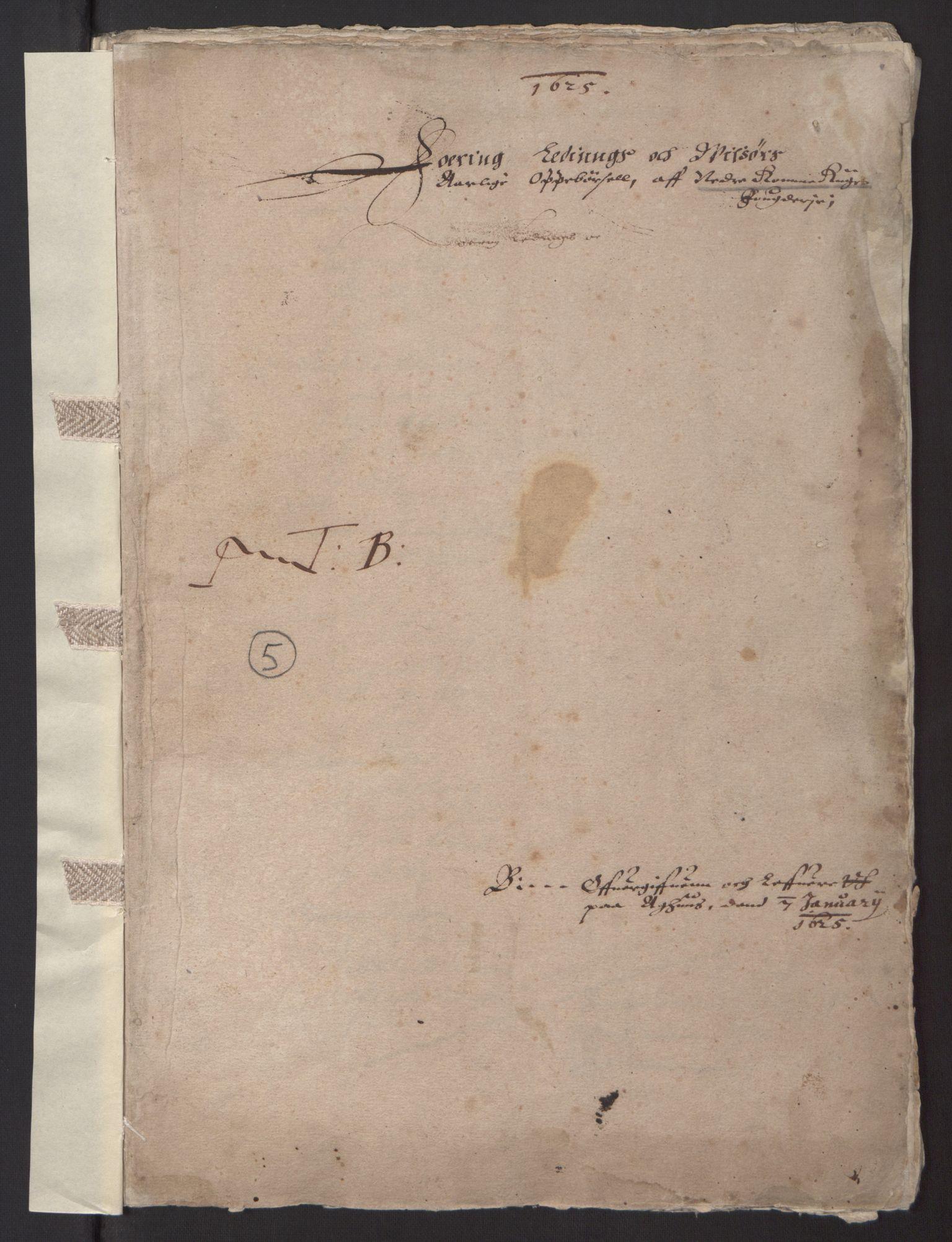 RA, Stattholderembetet 1572-1771, Ek/L0001: Jordebøker før 1624 og til utligning av garnisonsskatt 1624-1626:, 1624-1625, s. 132
