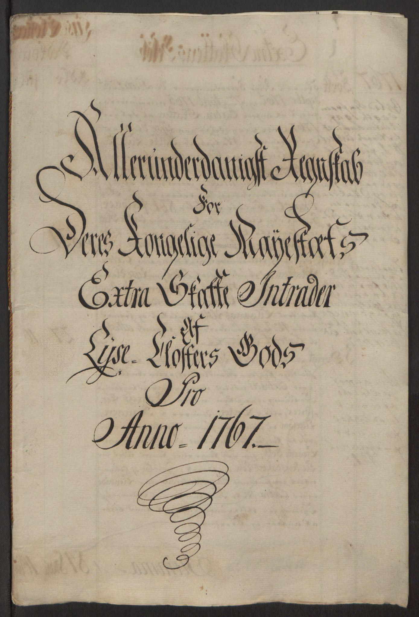 RA, Rentekammeret inntil 1814, Reviderte regnskaper, Fogderegnskap, R50/L3180: Ekstraskatten Lyse kloster, 1762-1783, s. 167