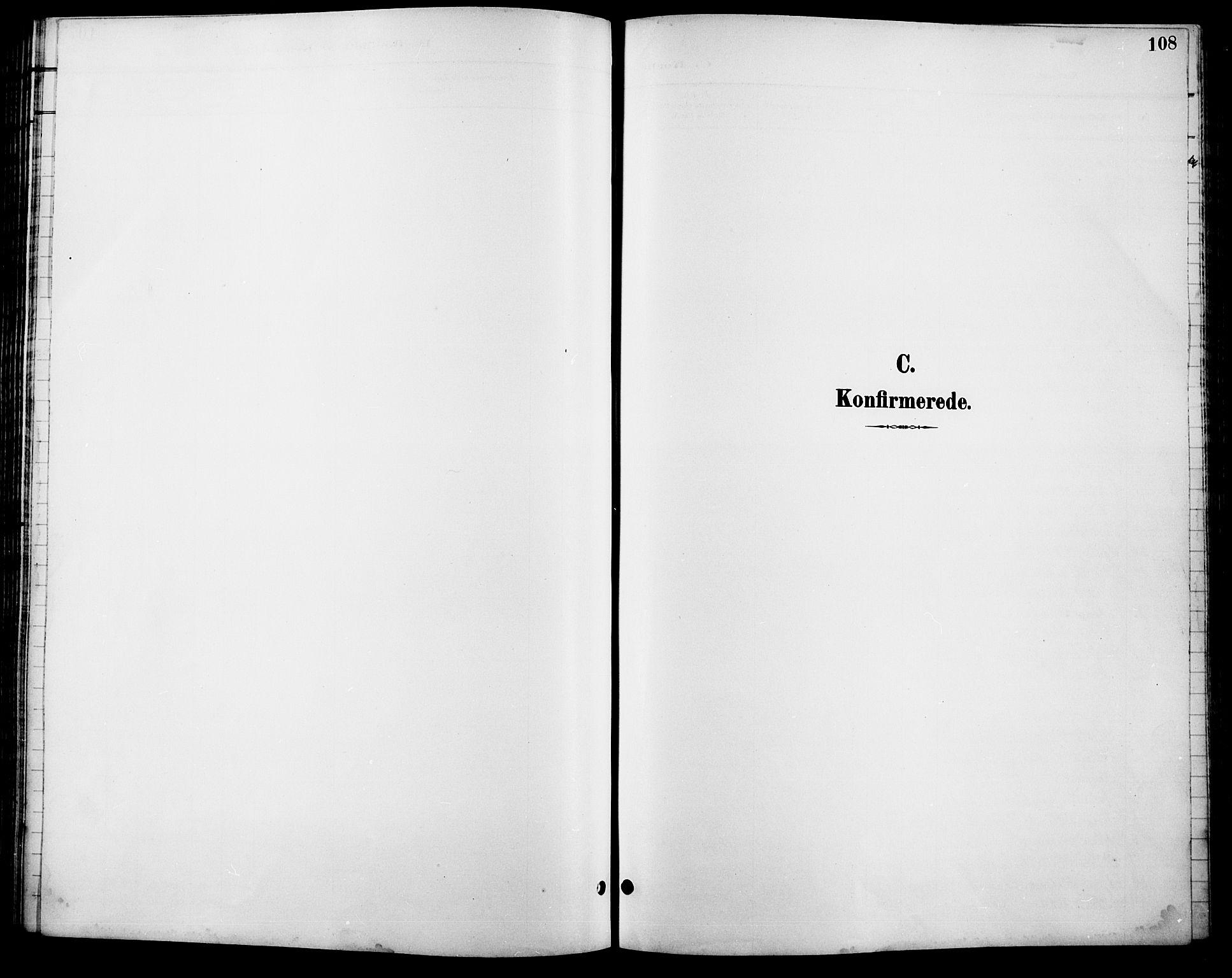 SAH, Lesja prestekontor, Klokkerbok nr. 7, 1895-1919, s. 108