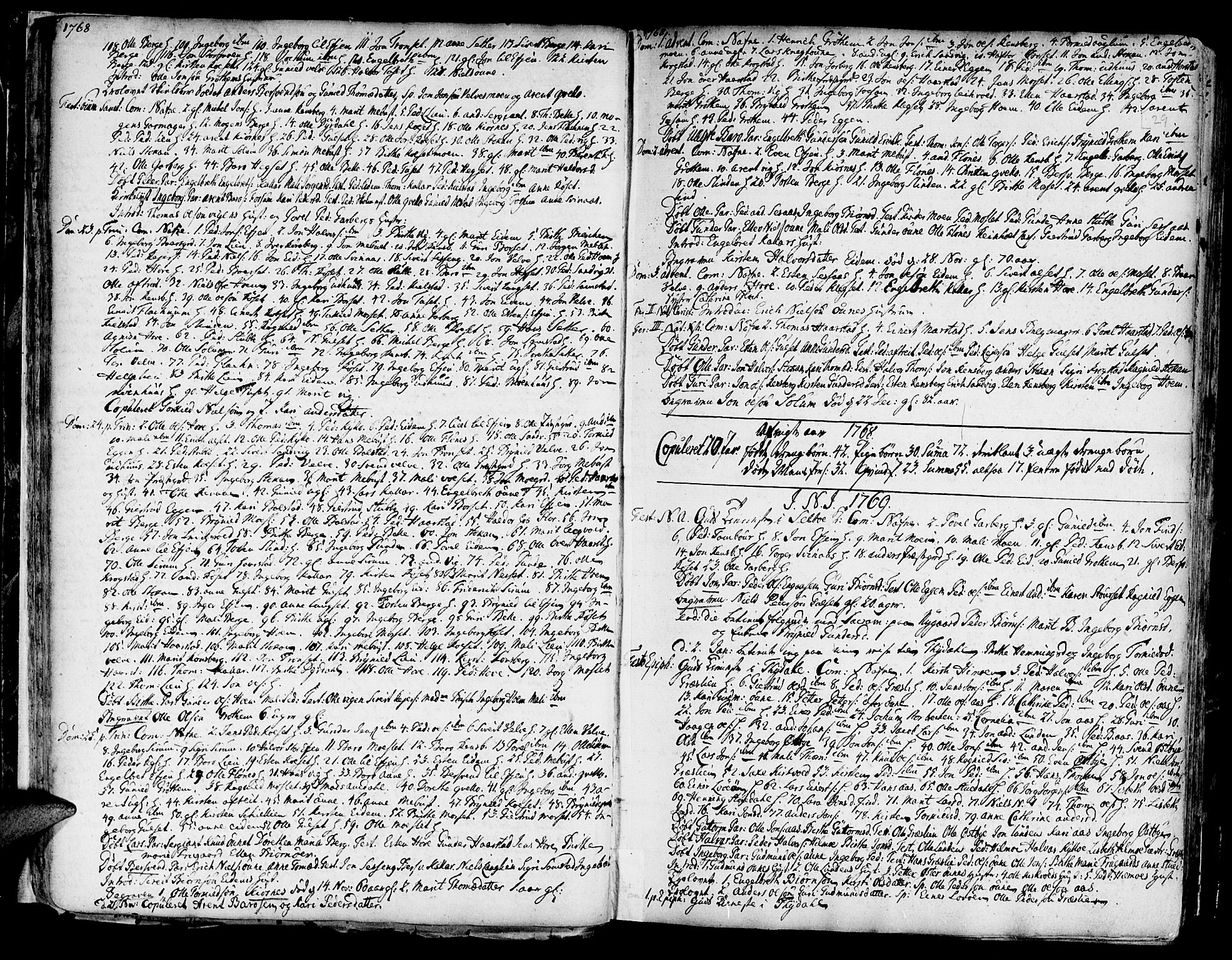 SAT, Ministerialprotokoller, klokkerbøker og fødselsregistre - Sør-Trøndelag, 695/L1138: Ministerialbok nr. 695A02 /1, 1757-1801, s. 29