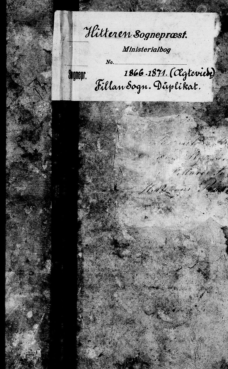 SAT, Ministerialprotokoller, klokkerbøker og fødselsregistre - Sør-Trøndelag, 637/L0560: Klokkerbok nr. 637C01, 1866-1872