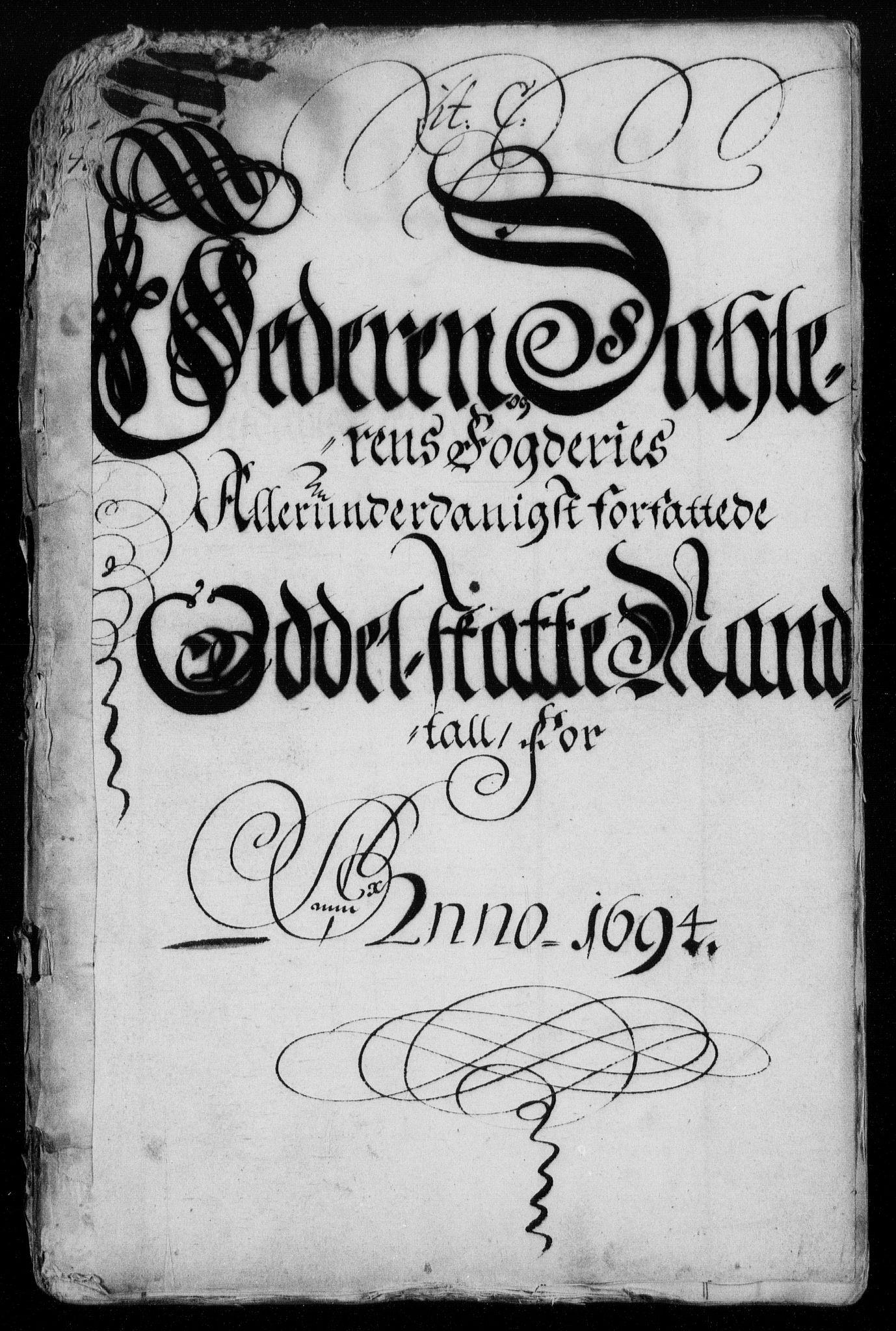 RA, Rentekammeret inntil 1814, Reviderte regnskaper, Fogderegnskap, R46/L2728: Fogderegnskap Jæren og Dalane, 1694-1696, s. 82