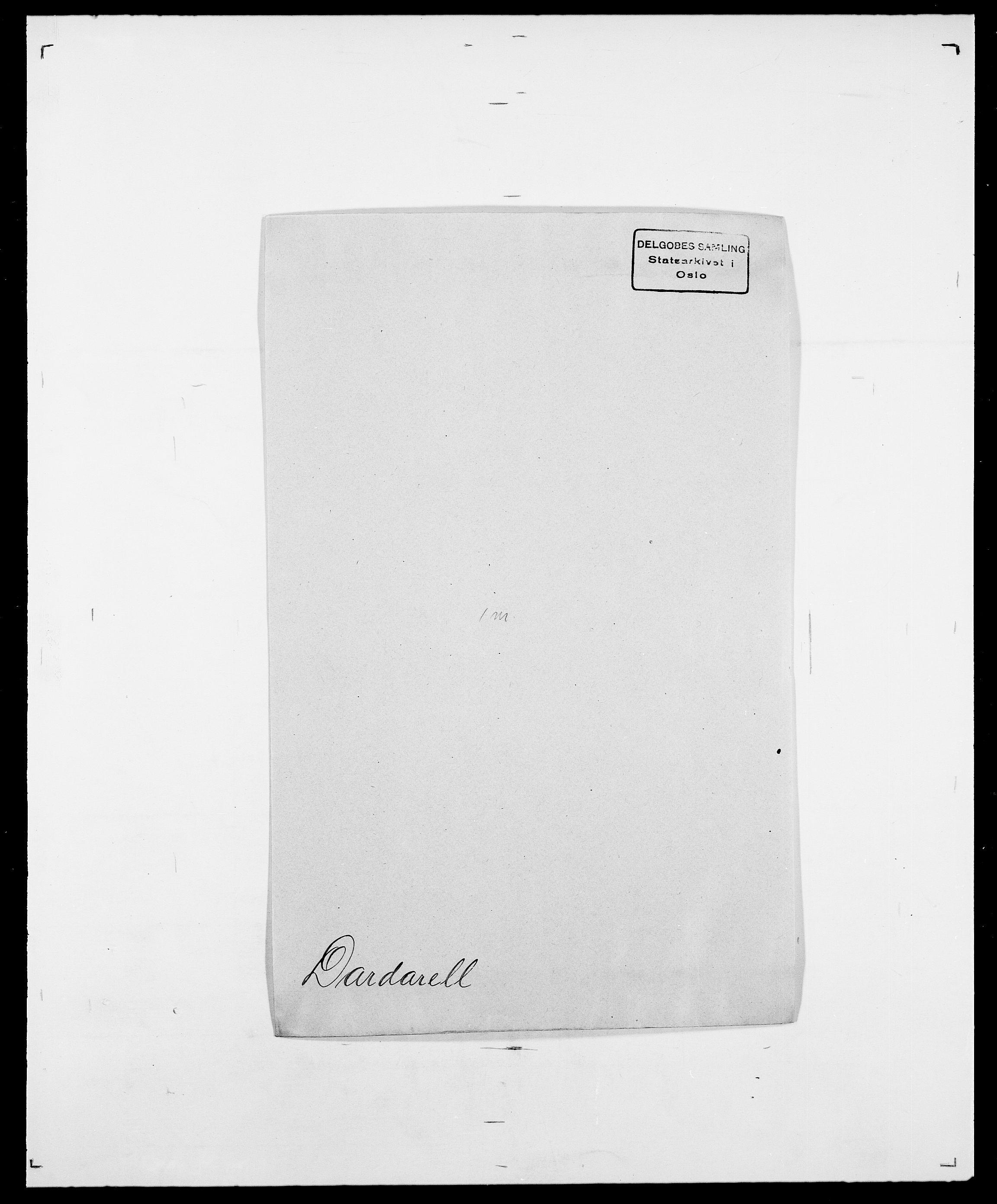 SAO, Delgobe, Charles Antoine - samling, D/Da/L0009: Dahl - v. Düren, s. 332