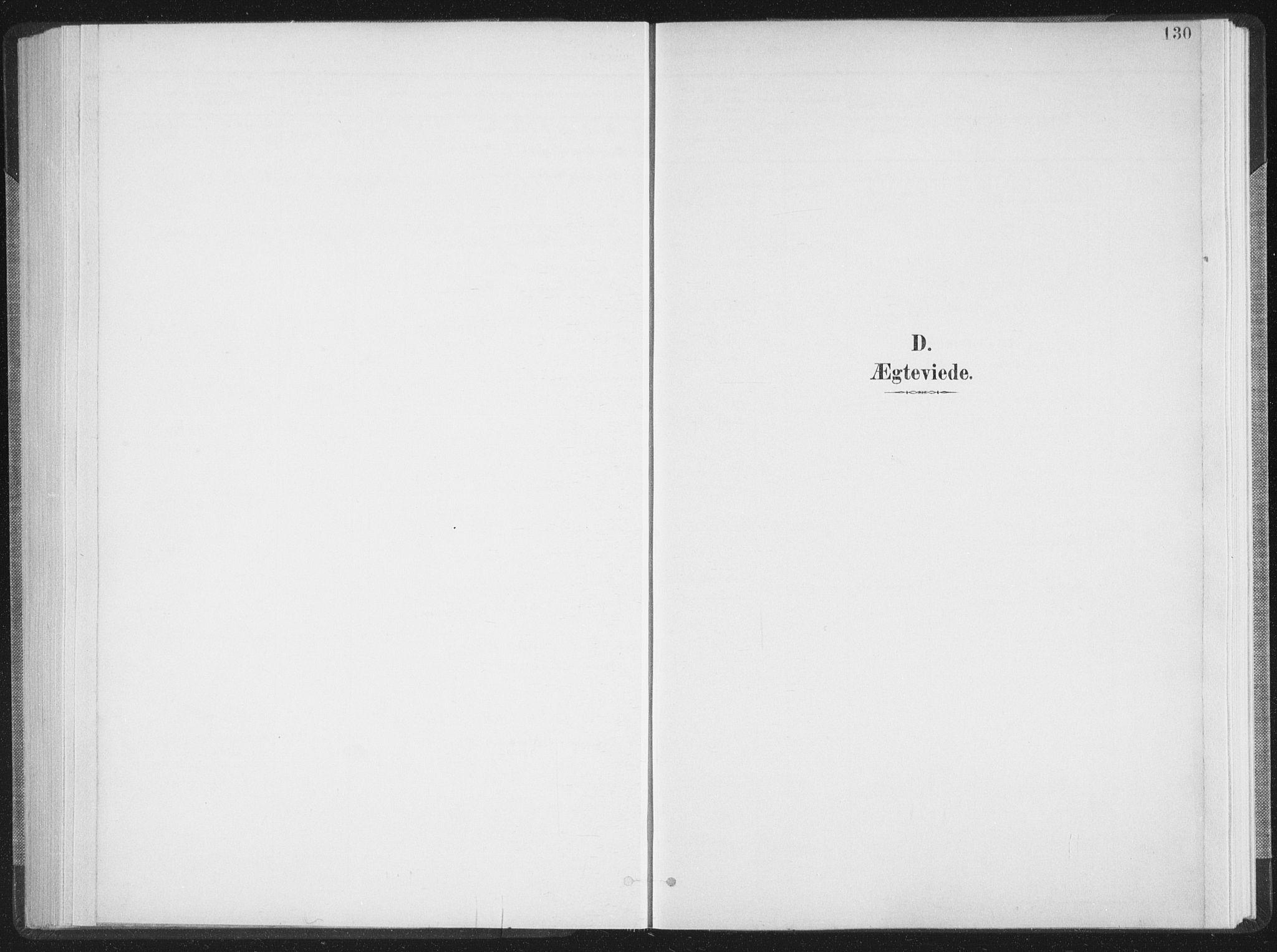 SAT, Ministerialprotokoller, klokkerbøker og fødselsregistre - Nordland, 897/L1400: Ministerialbok nr. 897A07, 1897-1908, s. 130