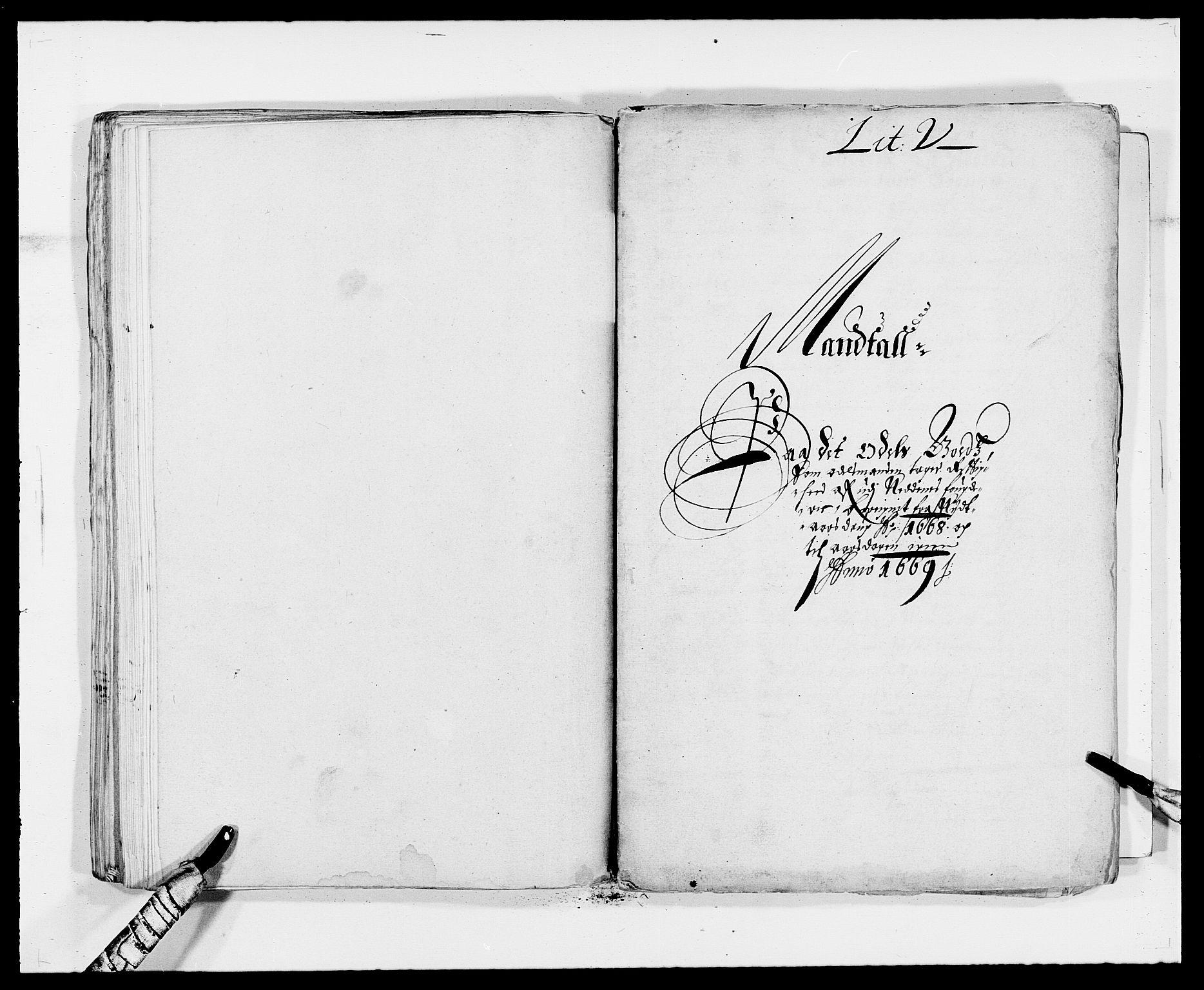 RA, Rentekammeret inntil 1814, Reviderte regnskaper, Fogderegnskap, R39/L2297: Fogderegnskap Nedenes, 1667-1669, s. 277